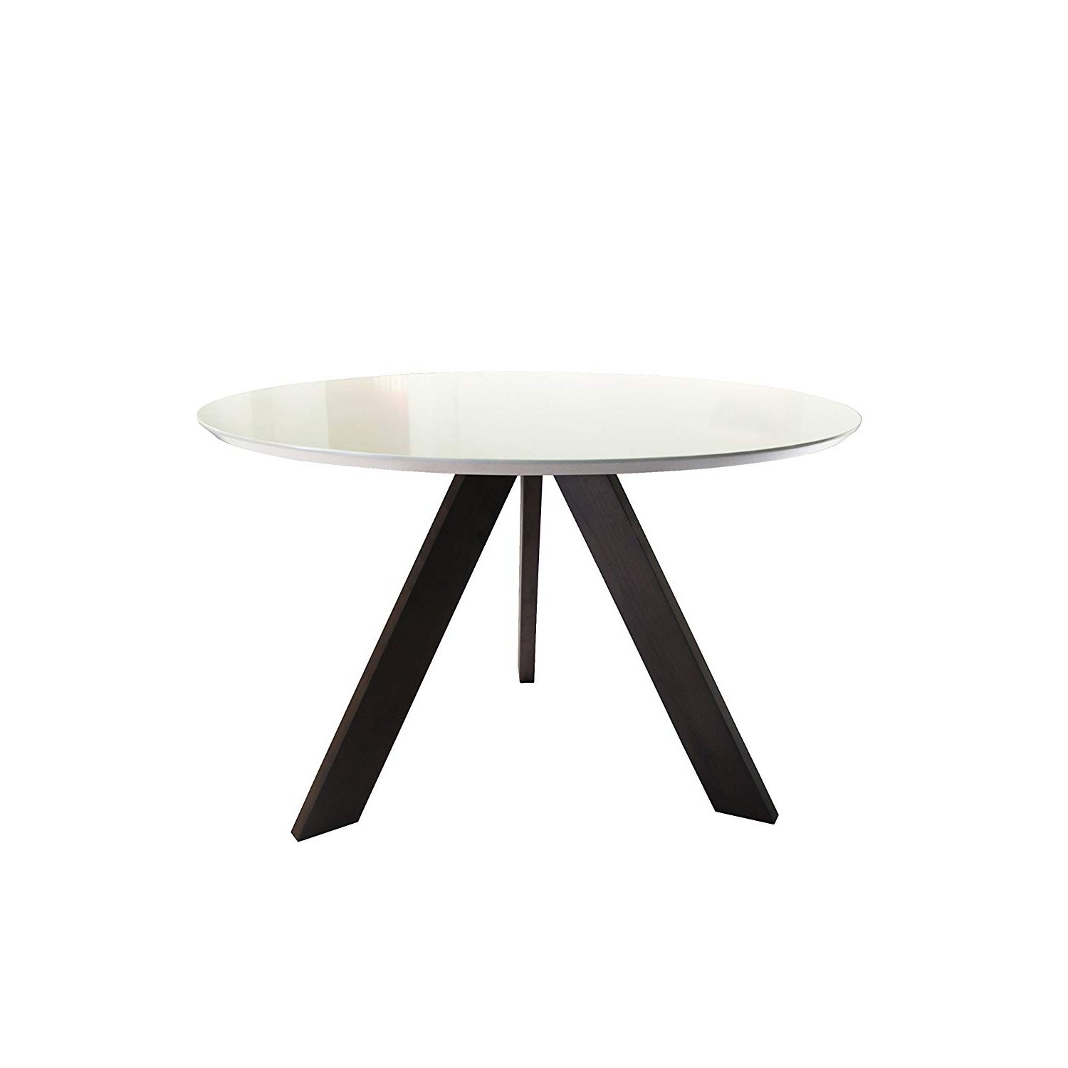 Well Known Amazon – Kitchen Dining Table Round Coffee Table Modern Throughout Neo Round Dining Tables (View 21 of 30)