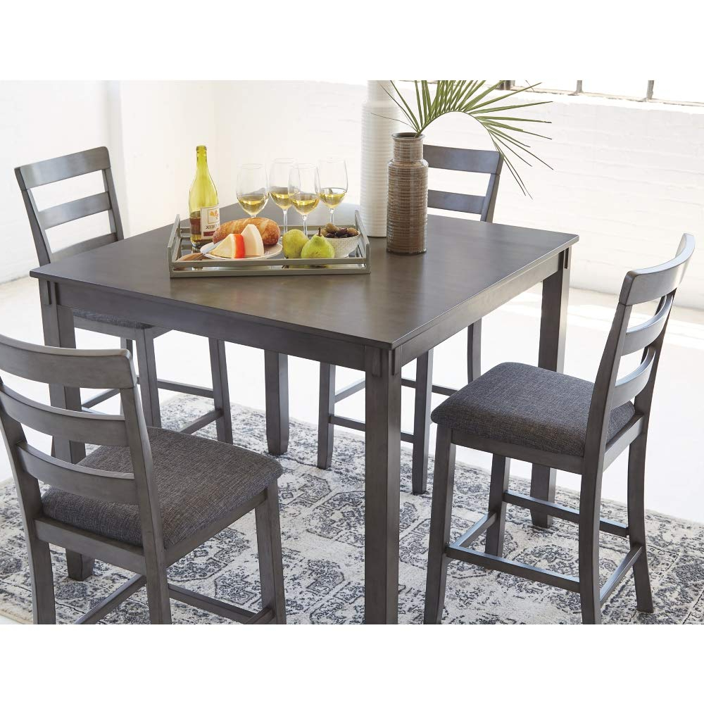 Well Known Amazon – Signature Designashley Bridson Dining Table Regarding Charcoal Transitional 6 Seating Rectangular Dining Tables (View 27 of 30)