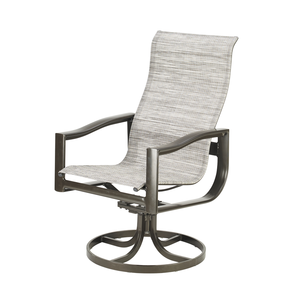 Well Known Belvedere Sling Ultimate High Back Swivel Tilt Chair Within Padded Sling High Back Swivel Chairs (Gallery 13 of 30)