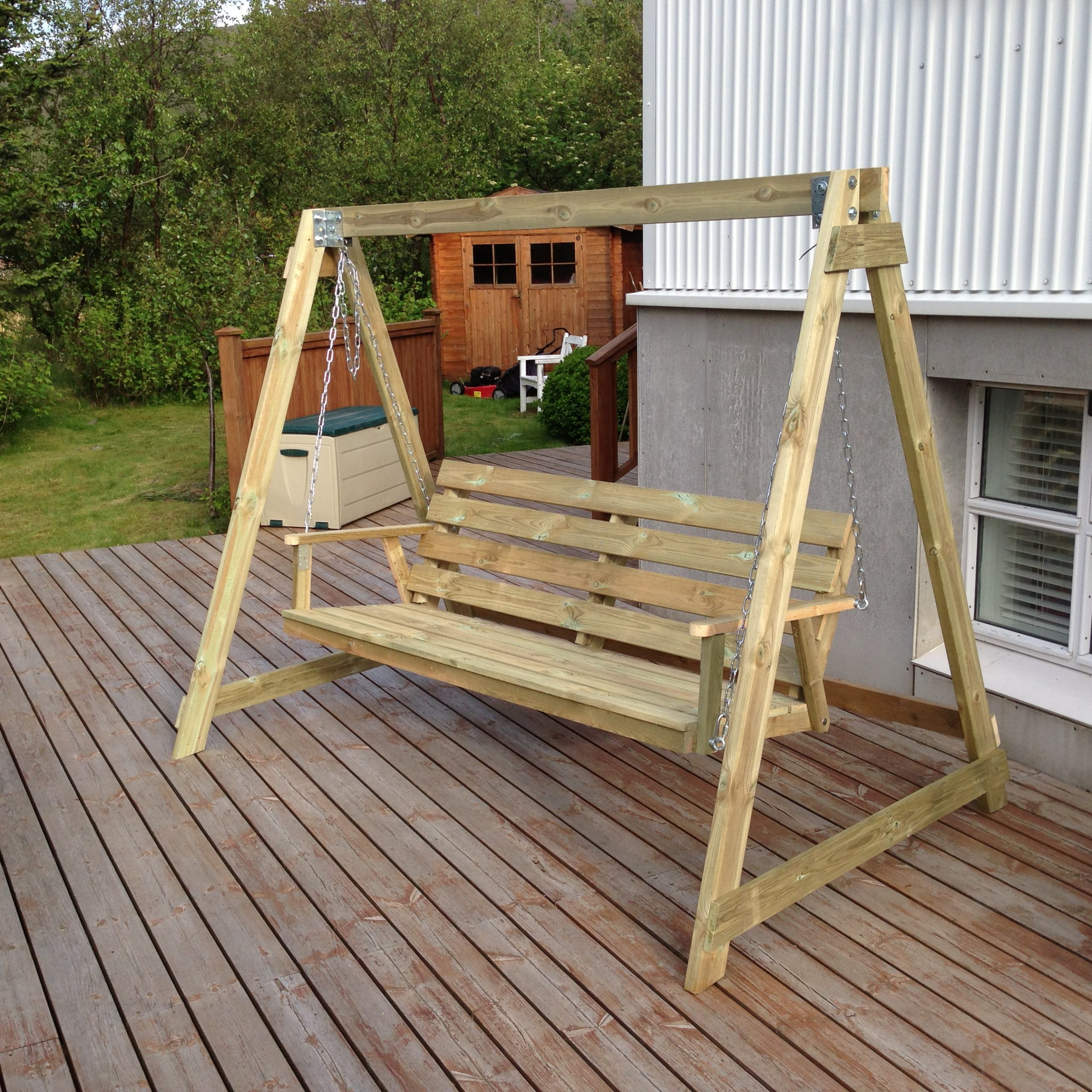 Well Known Bench Swing Plans Wooden Porch Swings Patio At Walmart With Within Patio Porch Swings With Stand (View 16 of 30)