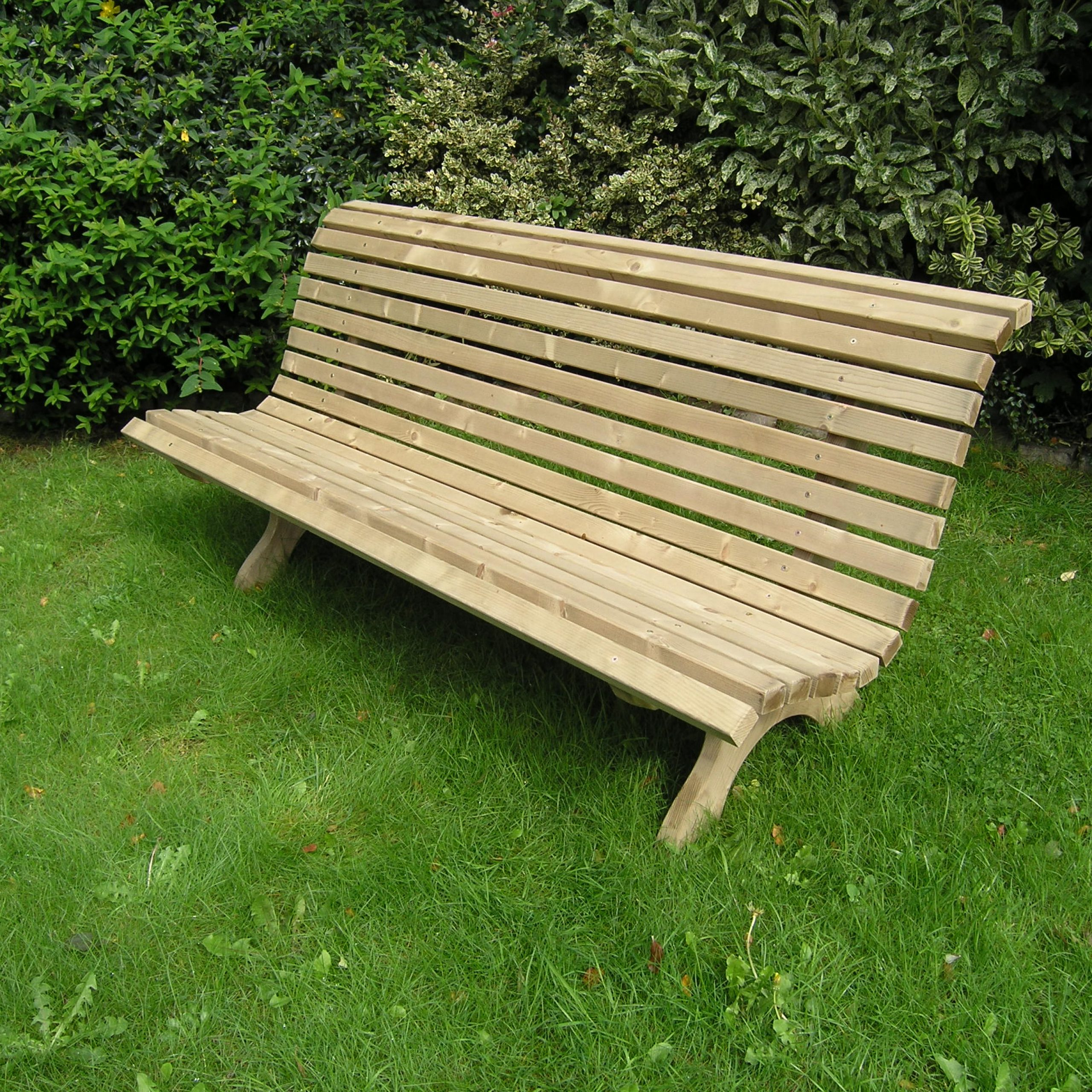 Well Known Benchmark For Garden Benches Owen Chubb Landscapers Ideas For Wood Garden Benches (View 18 of 30)