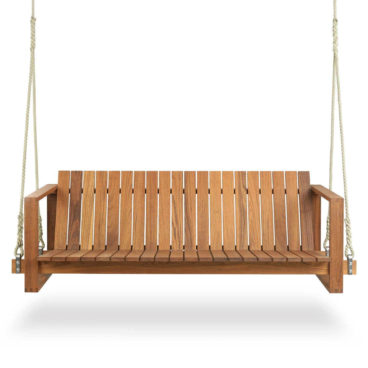 Well Known Carl Hansen And Son Bk13 Swing Sofa, Teak Oil Intended For 2 Person Light Teak Oil Wood Outdoor Swings (View 6 of 30)