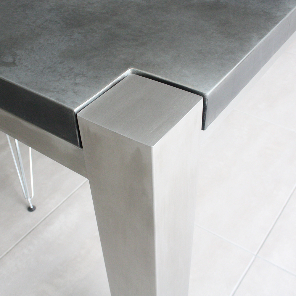 Well Known Dining Tables With Brushed Stainless Steel Frame Within Brushed Stainless Steel Frames – Modern Furniture With Steel (Gallery 3 of 30)