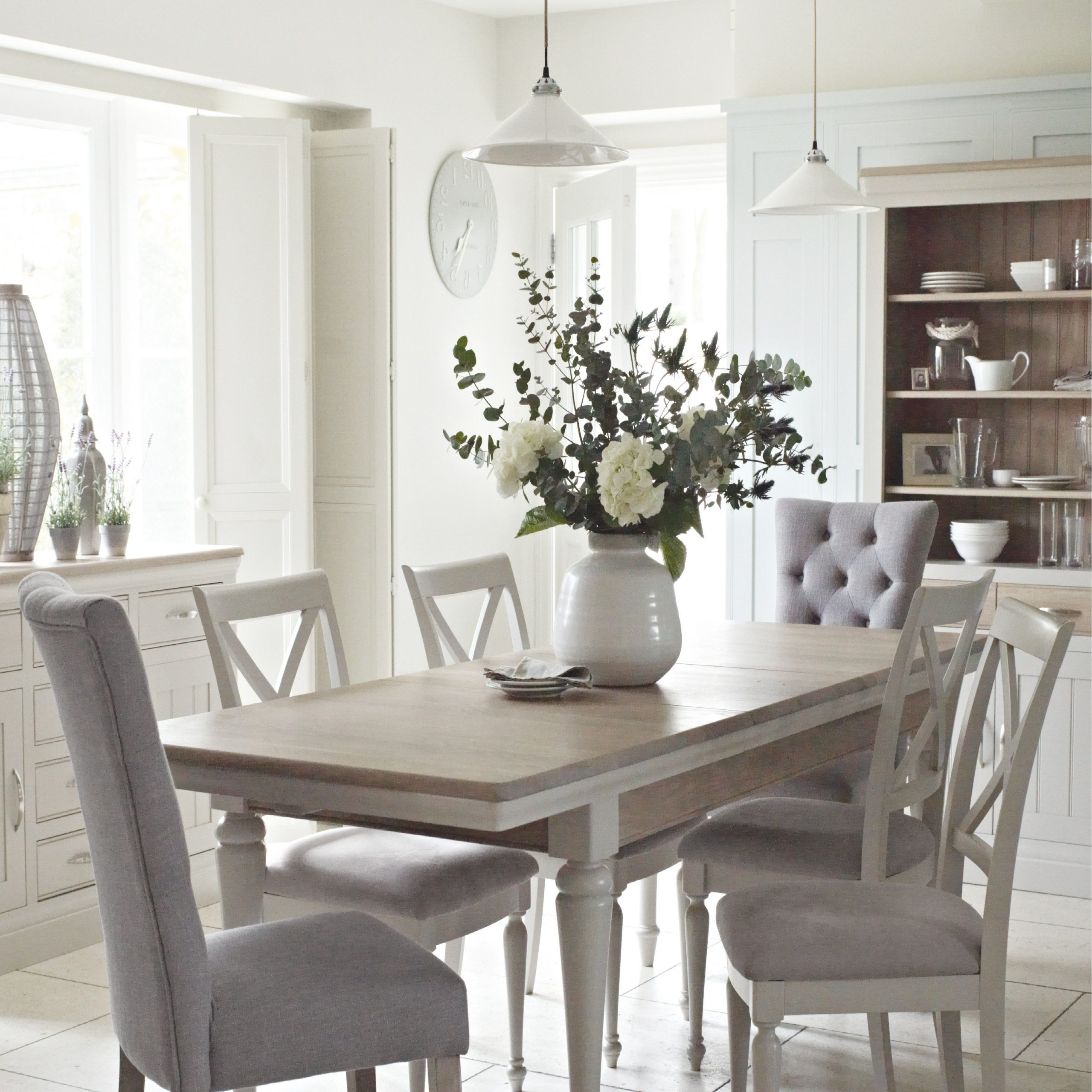 Well Known Distressed Grey Finish Wood Classic Design Dining Tables Throughout The Classic Bambury Dining Range Just Oozes Country Chic (Gallery 2 of 30)