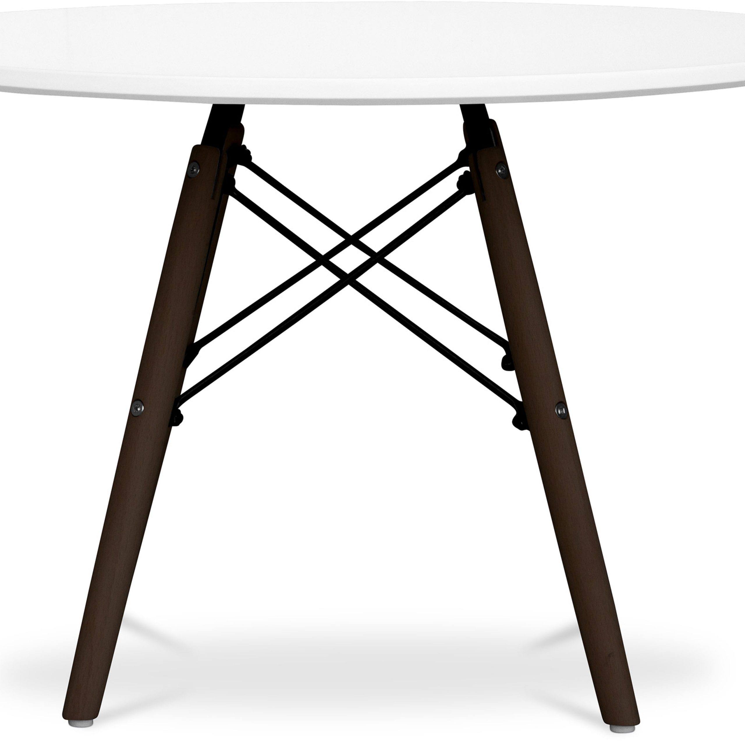 Well Known Eames Style Dining Tables With Wooden Legs Pertaining To Dark Legs Dsw Kids Table Charles Eames – Style – Wood (View 29 of 30)