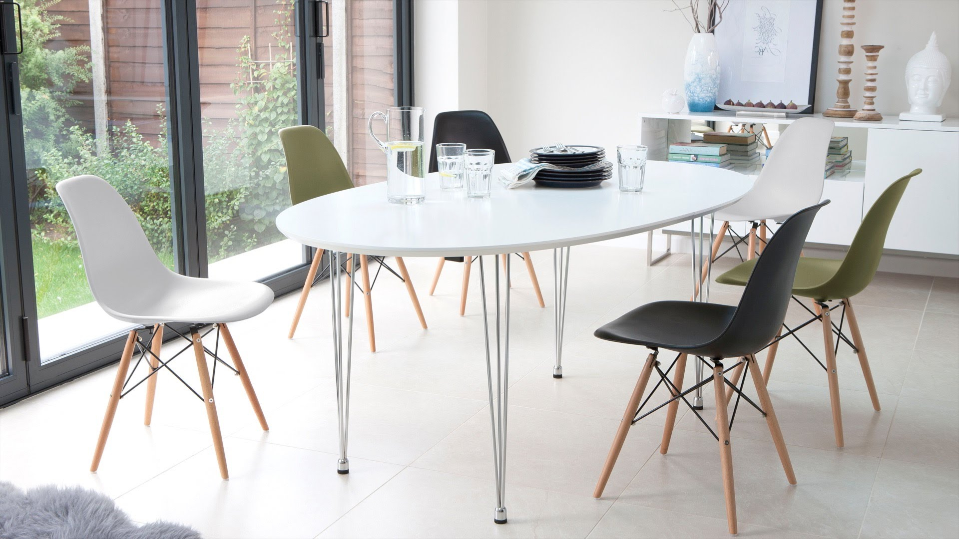 Well Known Elegant Eames Style Dining Table – Creative Design Ideas In Eames Style Dining Tables With Wooden Legs (View 28 of 30)