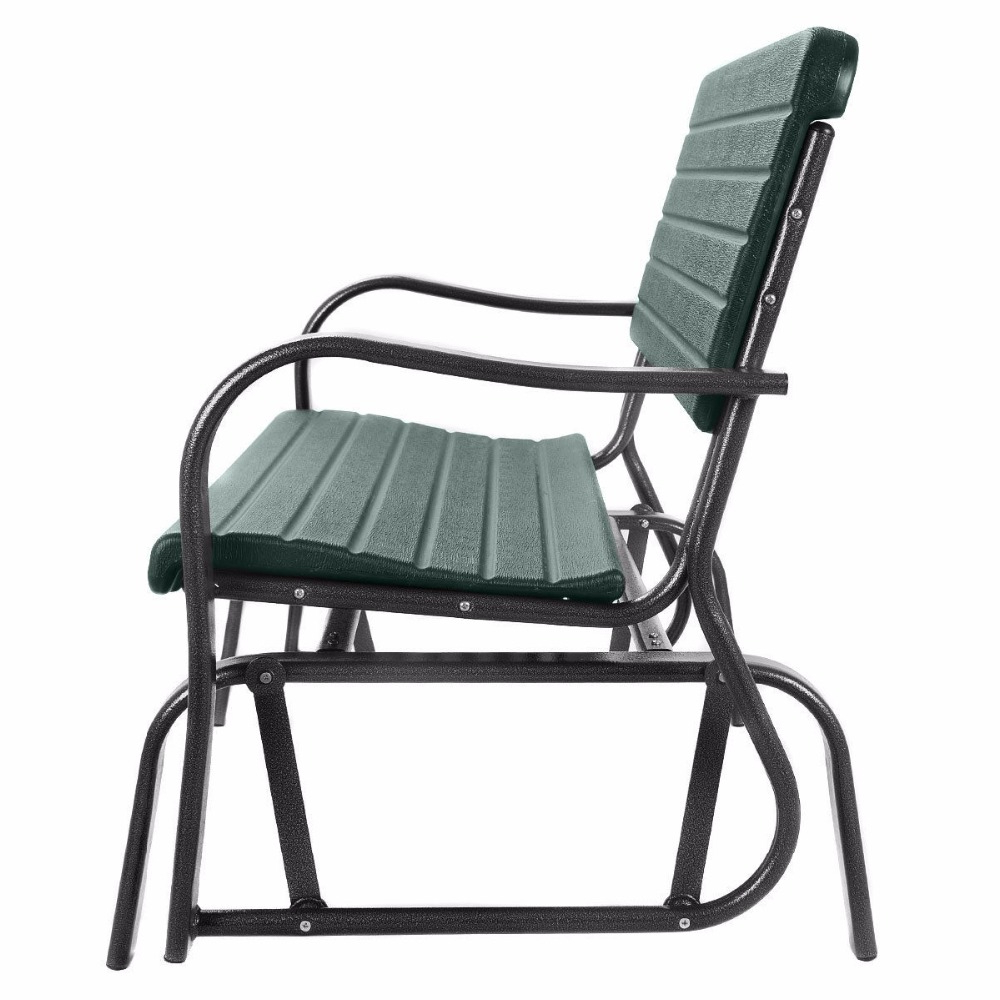 Well Known Hot Price #5935 – Outdoor Patio Swing Porch Rocker Glider Throughout Outdoor Patio Swing Porch Rocker Glider Benches Loveseat Garden Seat Steel (Gallery 27 of 30)