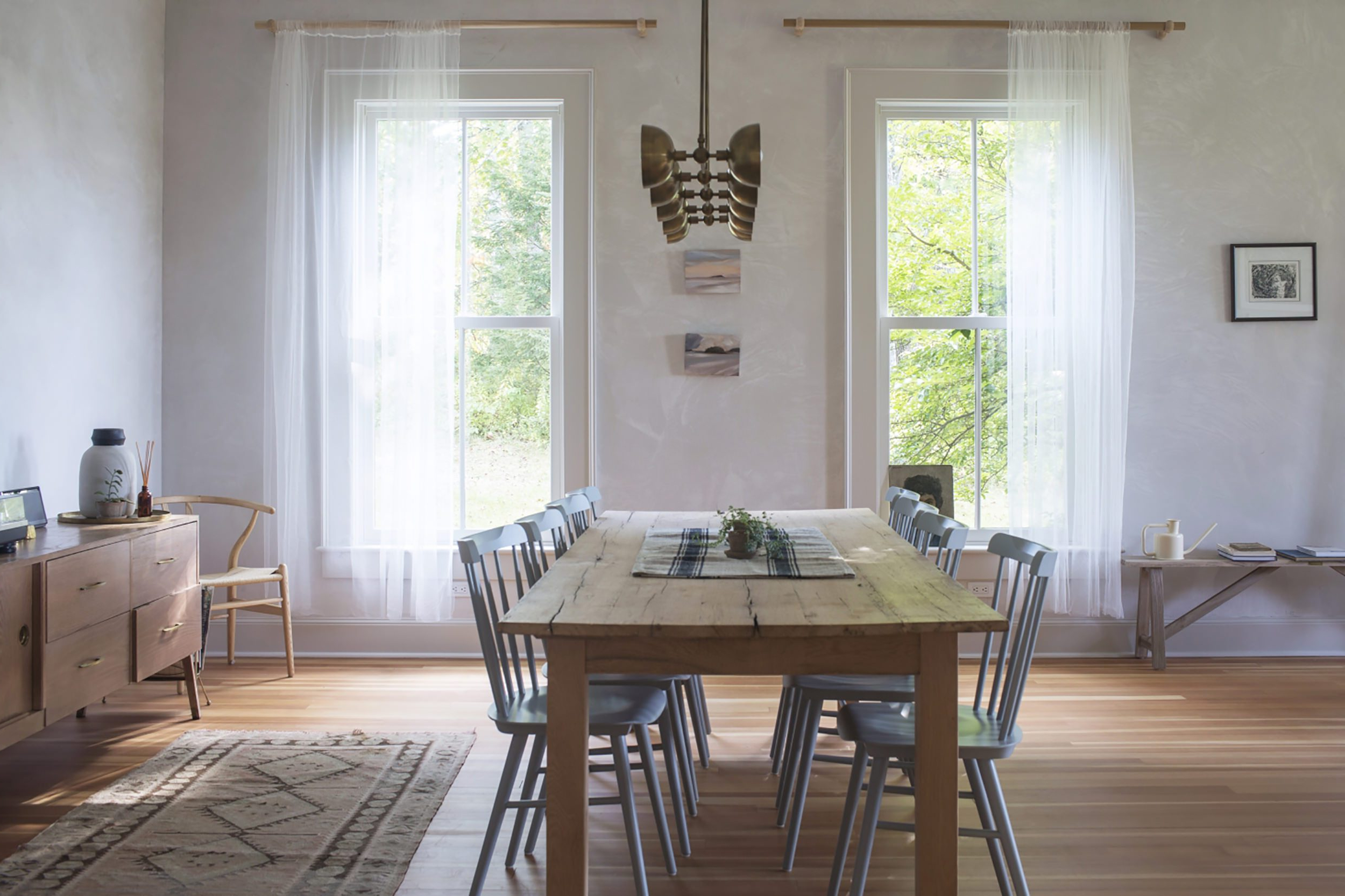 Well Known Large Rustic Look Dining Tables For Modern Traditional Style Home: Furniture Roundup – Emily (View 17 of 30)