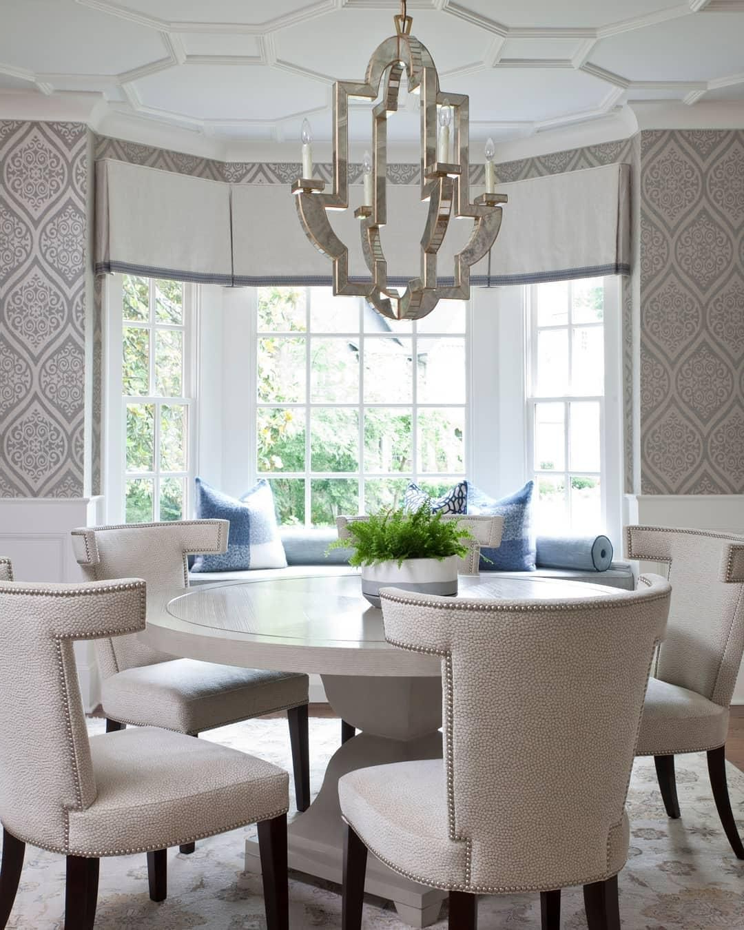 Well Known Medium Elegant Dining Tables For Lido Medium Chandelier (Gallery 2 of 30)