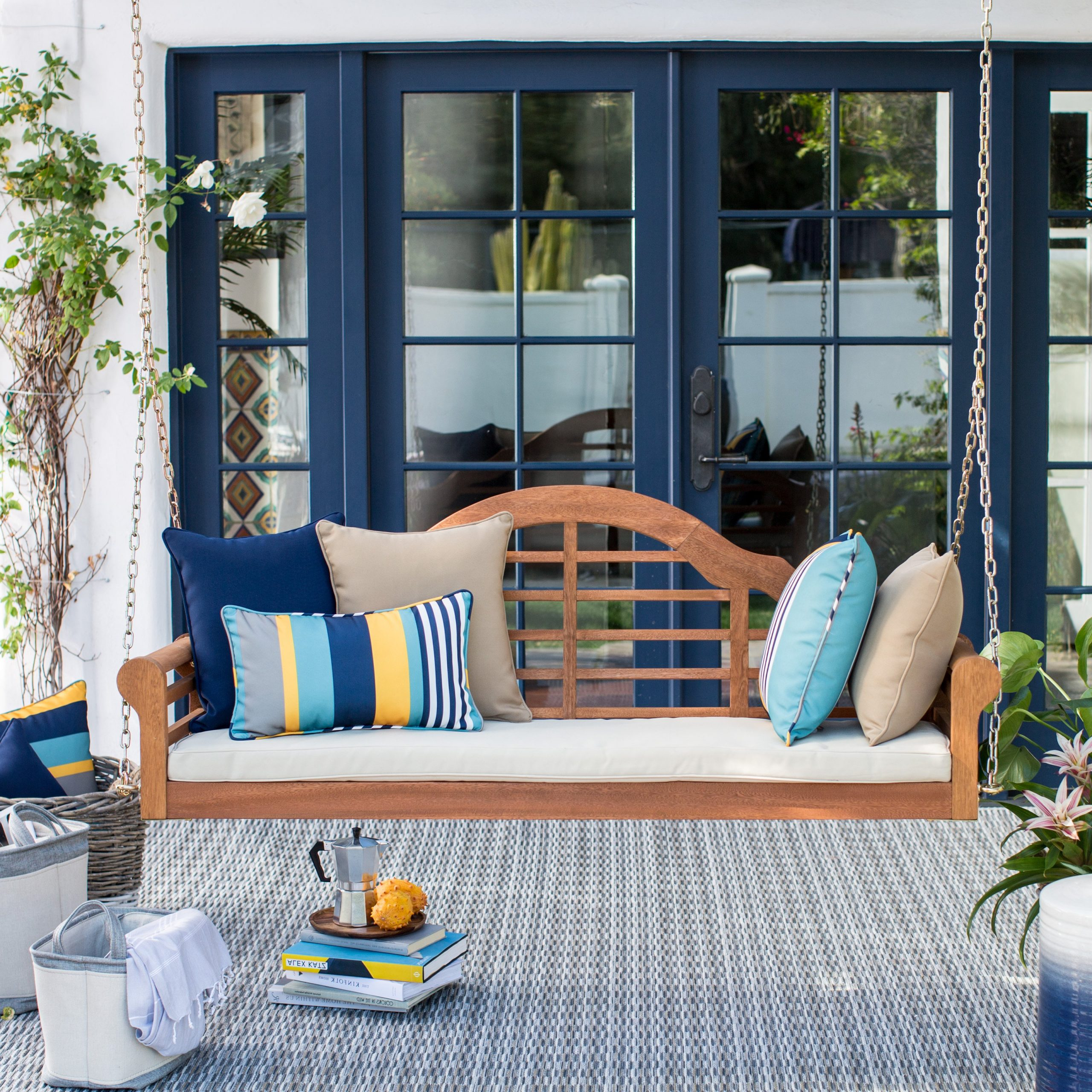 Well Known Outdoor. Attractive Porch Swing For Your Outdoor Decor Within Patio Hanging Porch Swings (Gallery 18 of 30)