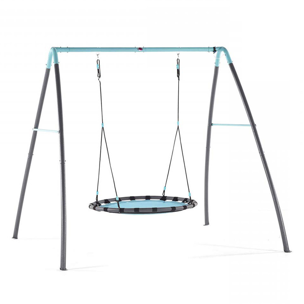 Well Known Plum – Metal Nest Swing W/ Mist Feature Pertaining To Nest Swings With Adjustable Ropes (View 12 of 30)