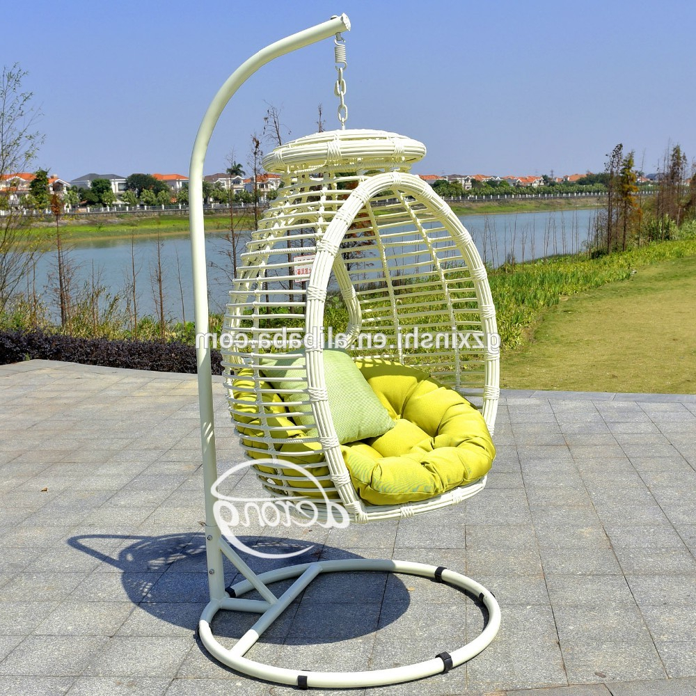 Well Known Rattan Garden Swing Chairs In Pe Rattan Garden Hanging Egg Chair Cheap Price Patio Leaf Design Outdoor  Swing Chair – Buy Wicker Hanging Swing Chair,cheap Wicker Rattan Chair (Gallery 7 of 31)