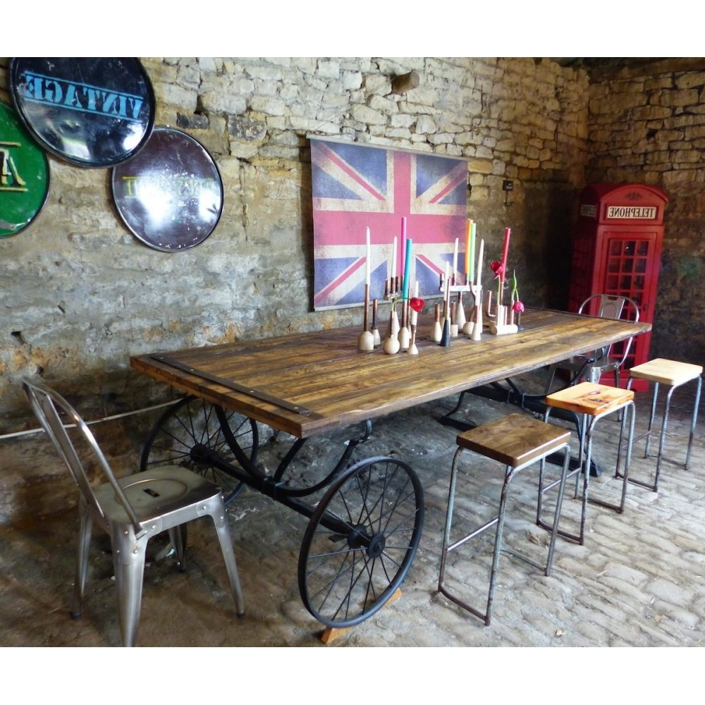 Well Known Reclaimed Wood Farmhouse Table (View 19 of 30)