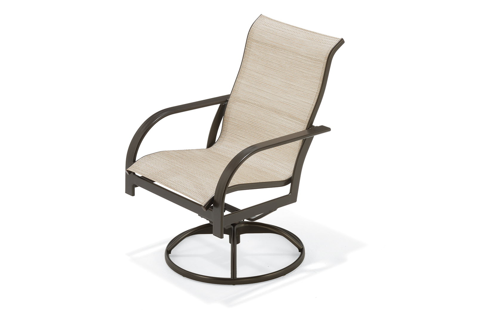 Well Known Sling High Back Swivel Chairs Regarding Key West Sling Sling High Back Swivel Tilt Chair (View 20 of 30)