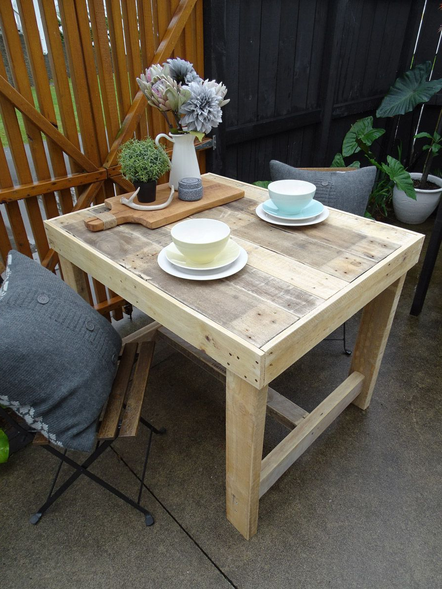 Well Known Small Rustic Look Dining Tables Pertaining To This Salvaged Timber Dining Table Has A Unique, Rustic (View 11 of 30)
