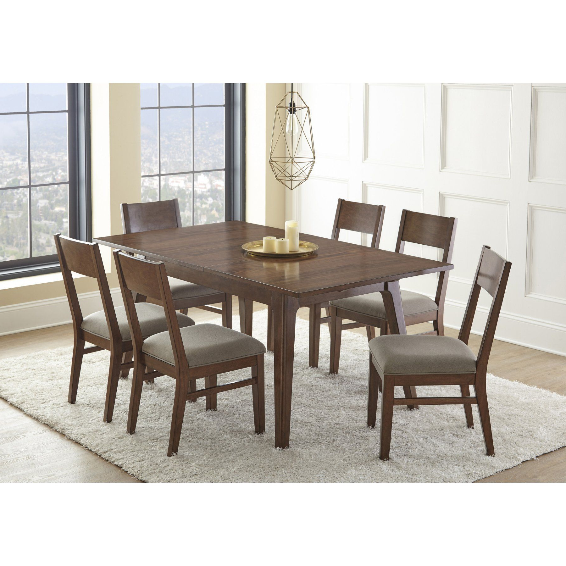 Well Known Steve Silver Co. Adeline 7 Piece Dining Table Set – Ssc2860 Regarding Atwood Transitional Rectangular Dining Tables (Gallery 24 of 30)