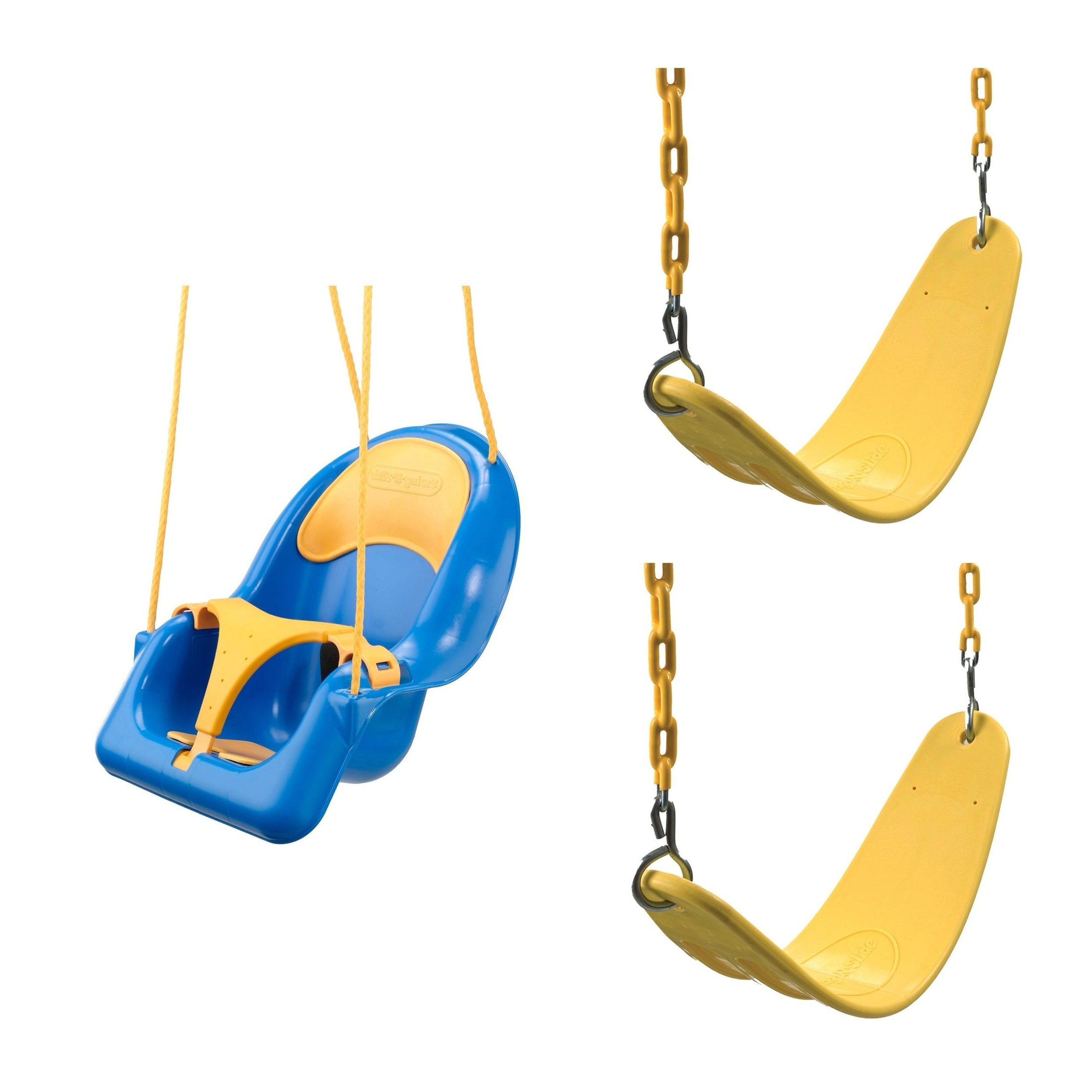 Well Known Swing Seats With Chains For Swing N Slide 2 Yellow Extreme Duty Swing Seats With Chains (View 29 of 30)