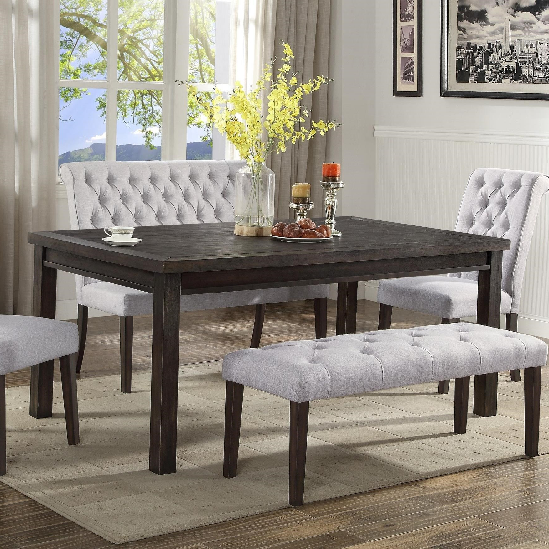 Well Known Transitional Rectangular Dining Tables With Regard To Palmer Dining Dining Table (Gallery 3 of 30)