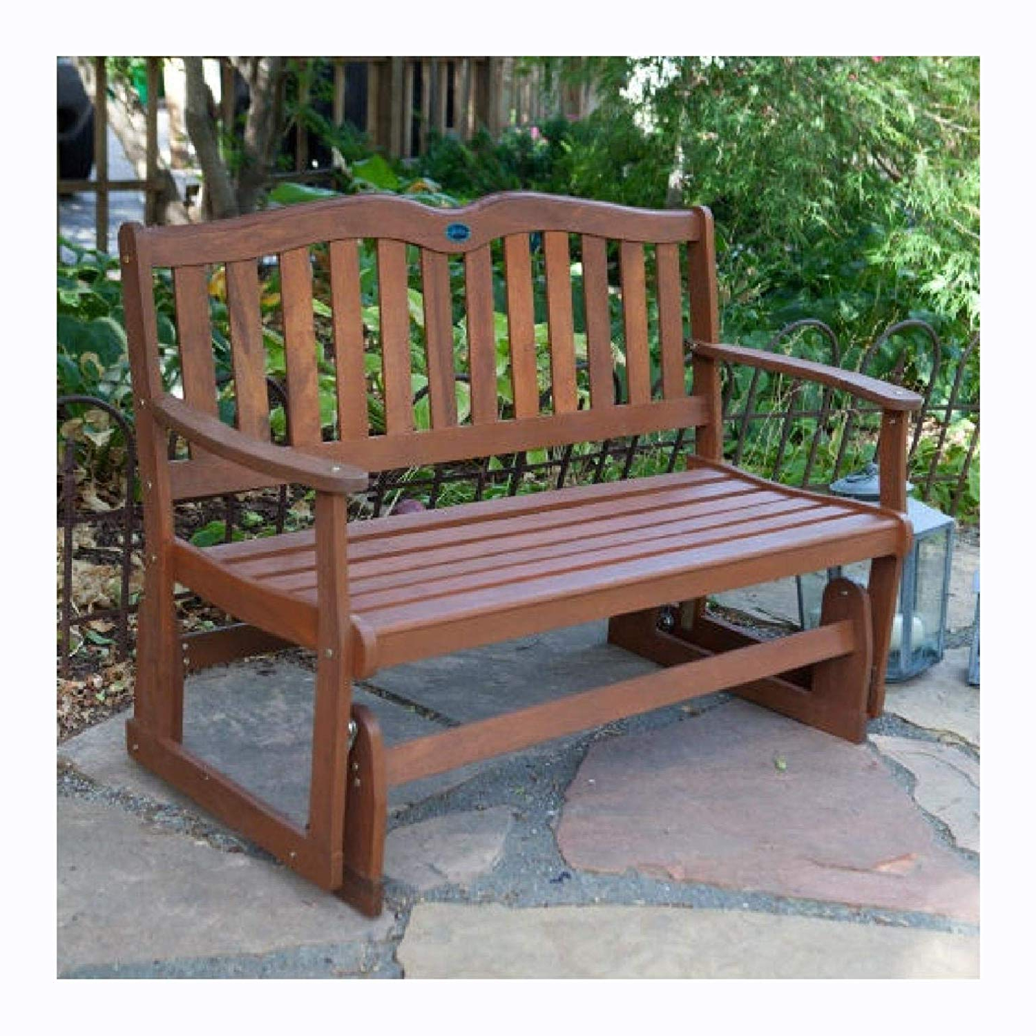 Well Known Wood Garden Benches Intended For Amazon: Garden Benches, 4 Ft Outdoor Loveseat Garden (Gallery 3 of 30)