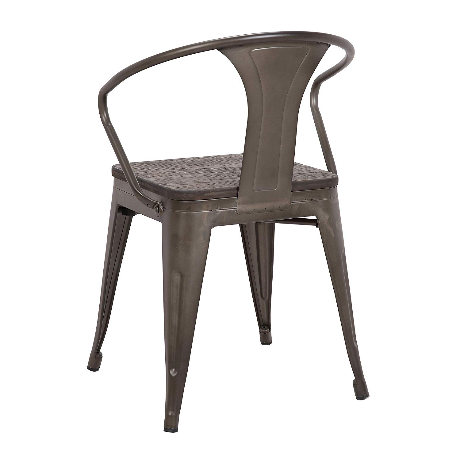 Well Liked Amazon – Lumisource Waco Chair In Antique And Espresso For Vintage Cream Frame And Espresso Bamboo Dining Tables (Gallery 21 of 30)
