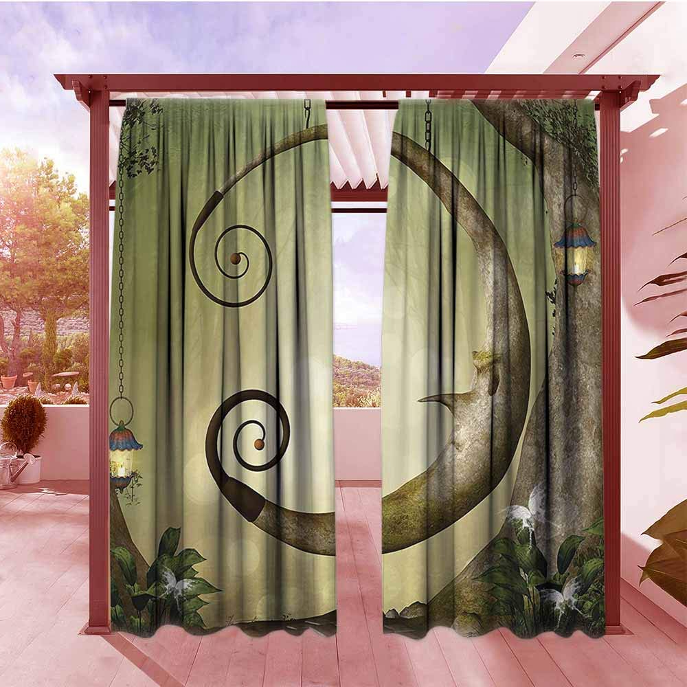 Well Liked Amazon : Window Curtain Cartoon Decor Collection Forest With Regard To Lamp Outdoor Porch Swings (View 15 of 30)