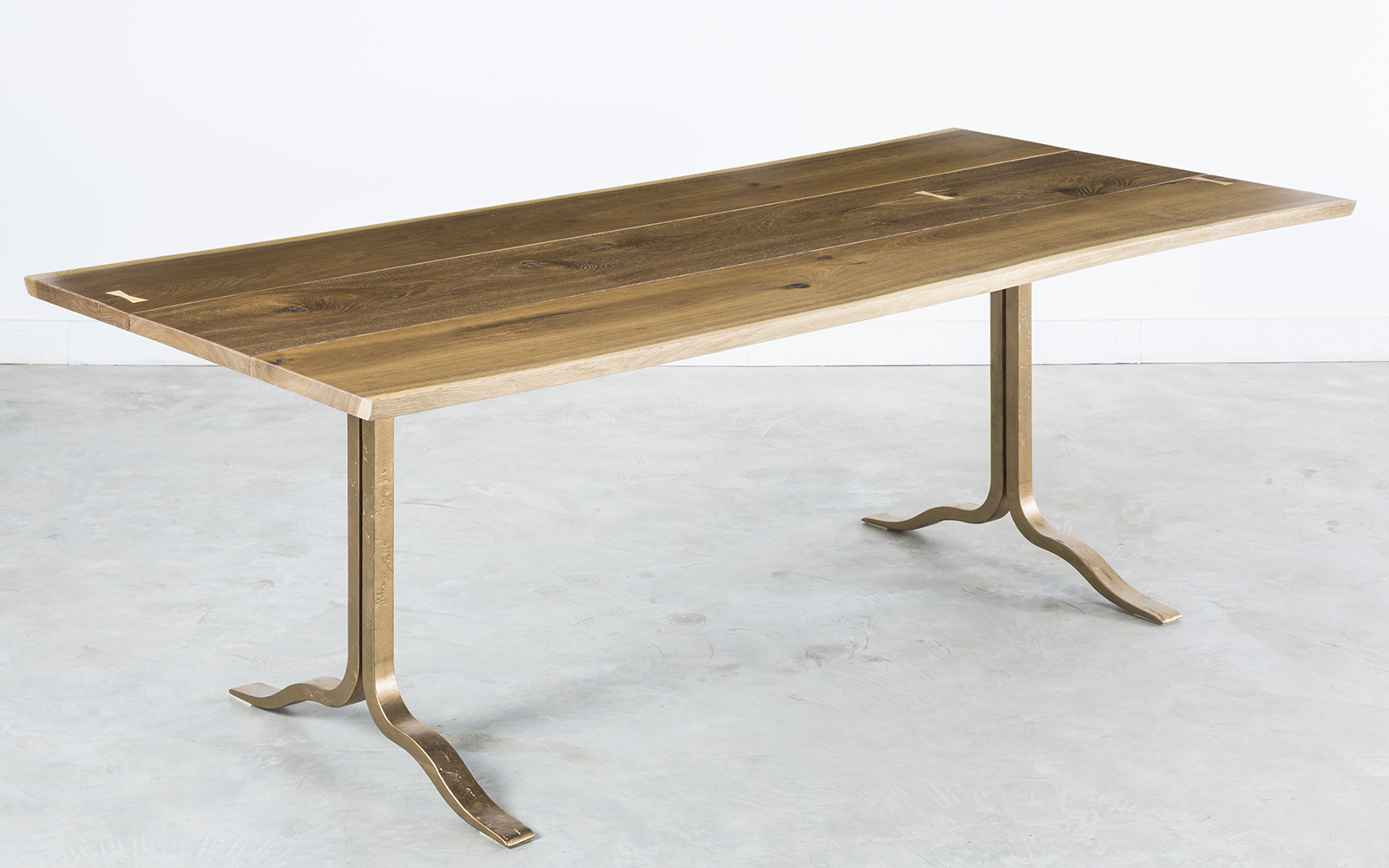 Well Liked Dining Tables In Smoked Seared Oak Throughout Sq Roots (View 27 of 30)