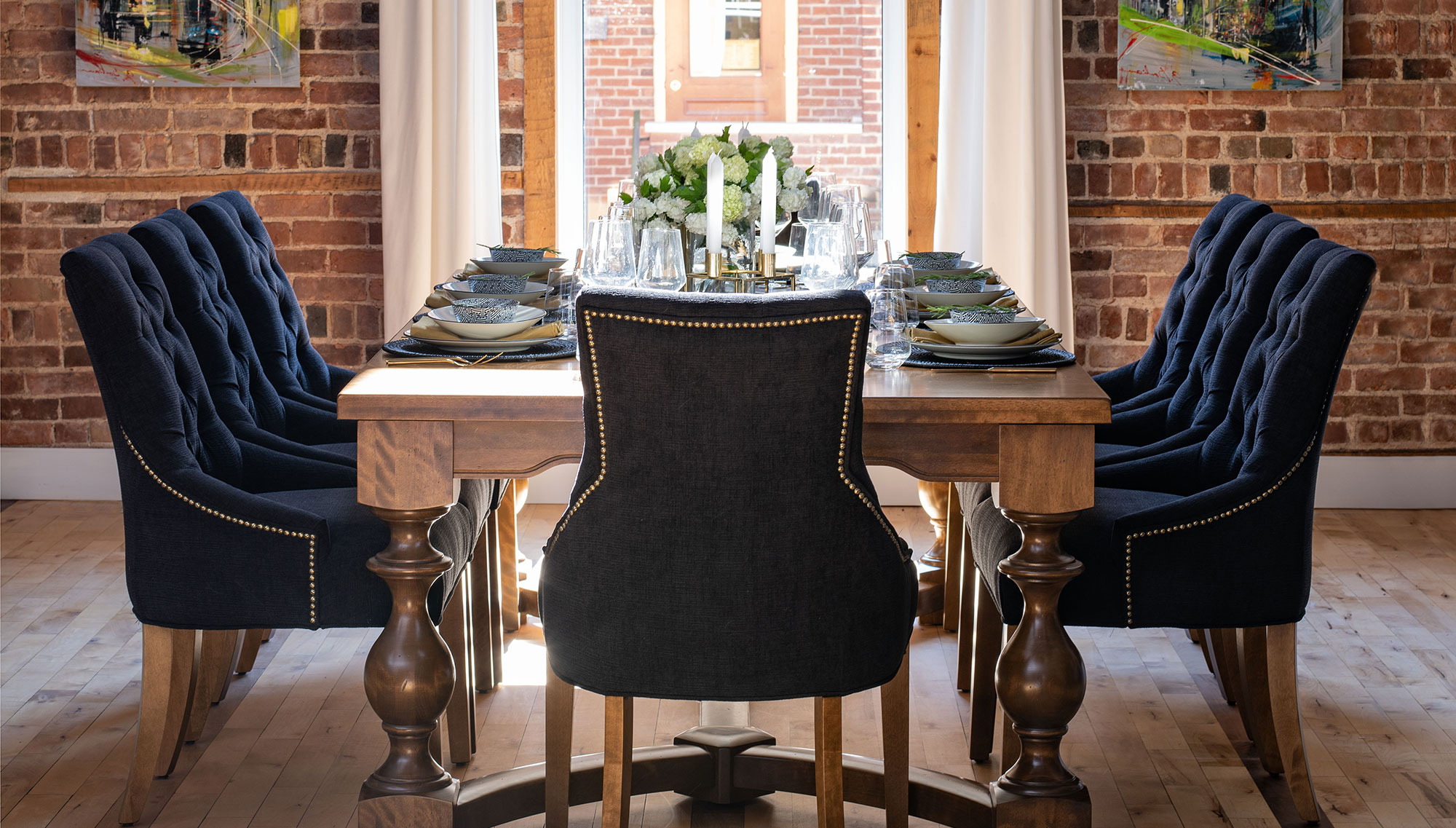 Well Liked Handcrafted In North America – Kitchen And Dining Room – Canadel With Dom Square Dining Tables (View 22 of 30)
