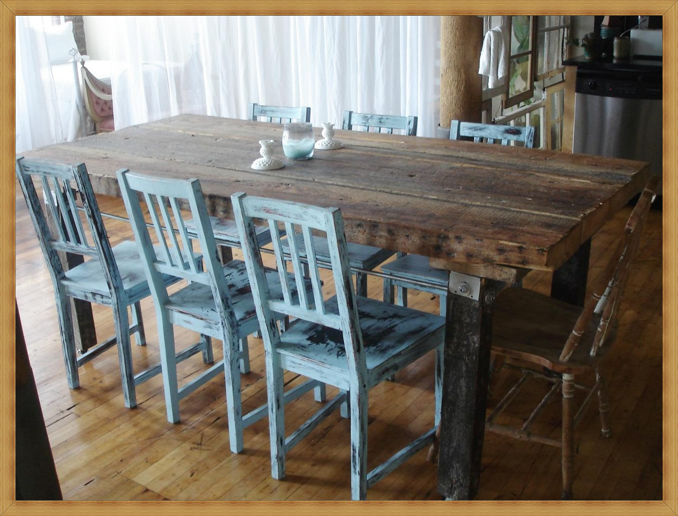 Well Liked Large Rustic Dining Room Table – Table Design Ideas Throughout Large Rustic Look Dining Tables (Gallery 25 of 30)