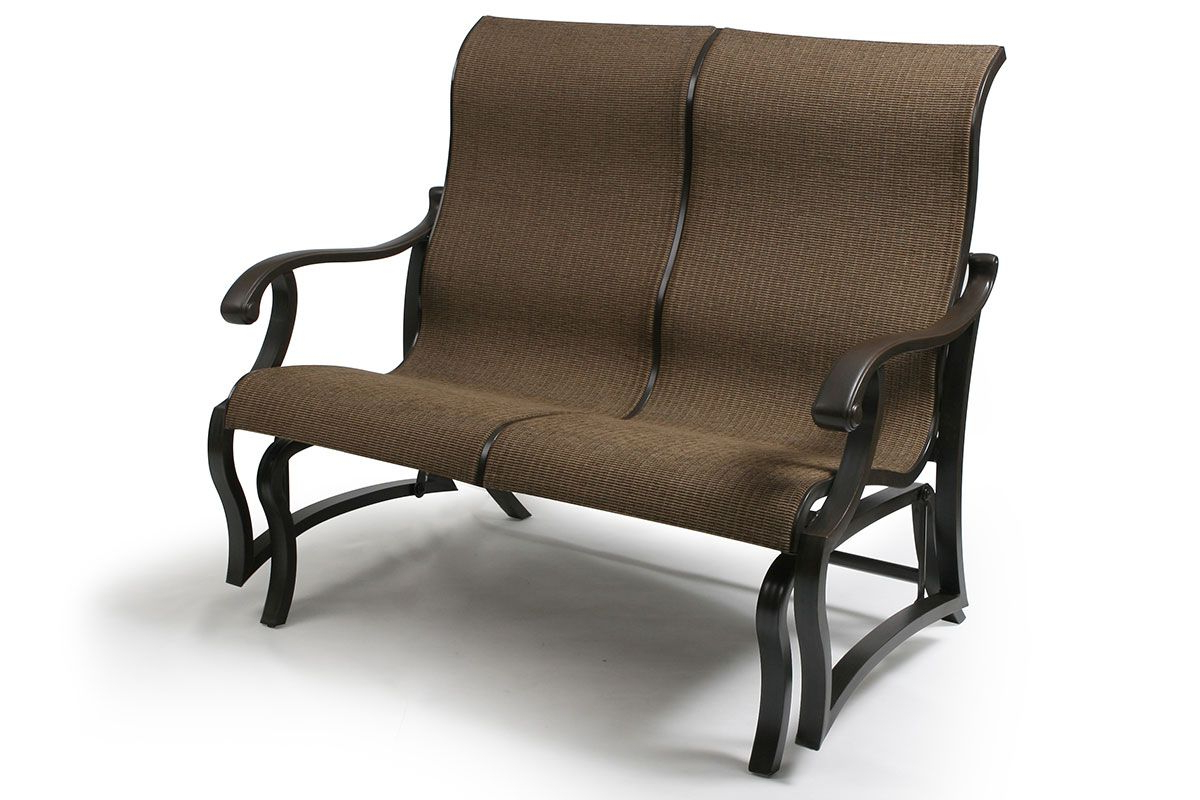 Well Liked Sling Double Glider Benches With Volare Sling Double Glider Vo 157 (Gallery 11 of 30)