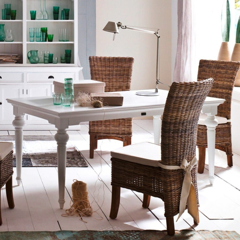 White Intended For Well Known Provence Accent Dining Tables (View 7 of 30)