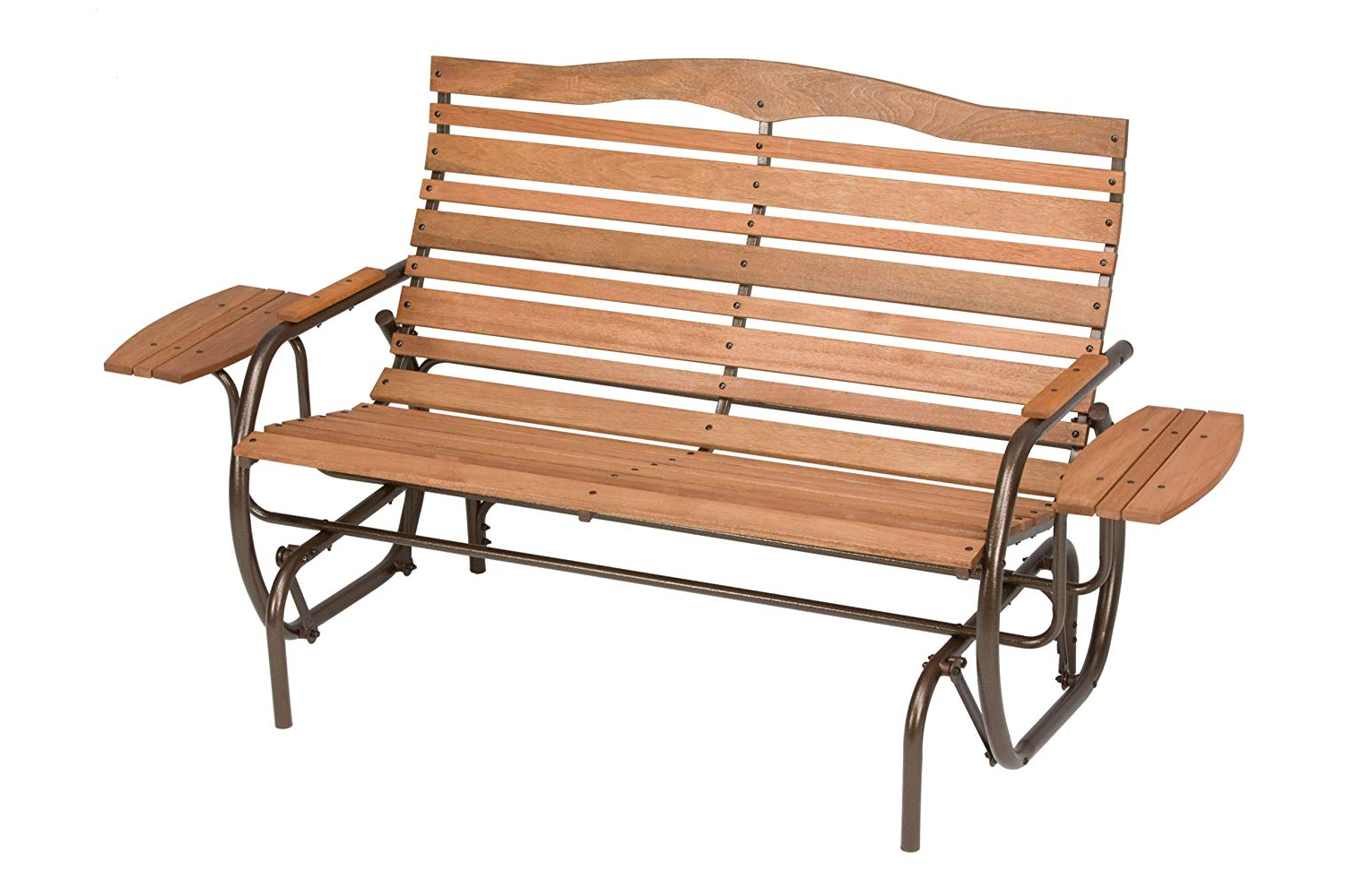 Widely Used Aluminum Outdoor Double Glider Benches With Top 5 Best Outdoor Patio Bench Reviews 2019 2020 On (View 29 of 30)