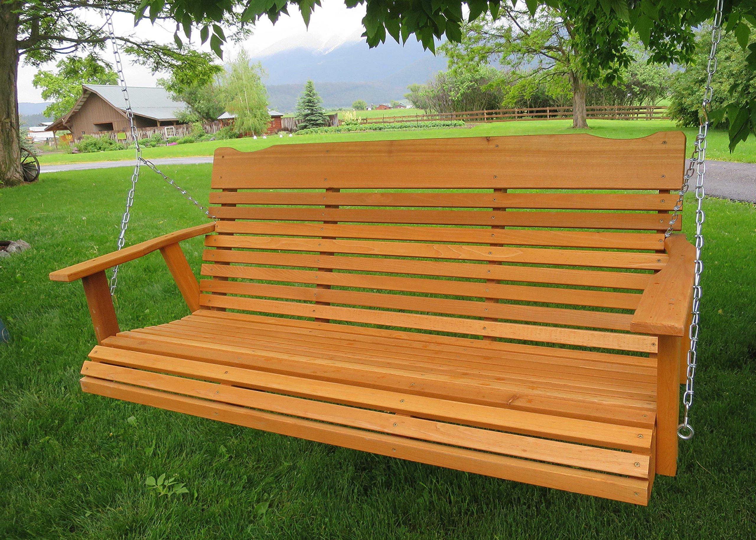 Widely Used Cheap Cedar Swing Sets, Find Cedar Swing Sets Deals On Line With A4 Ft Cedar Pergola Swings (Gallery 19 of 30)