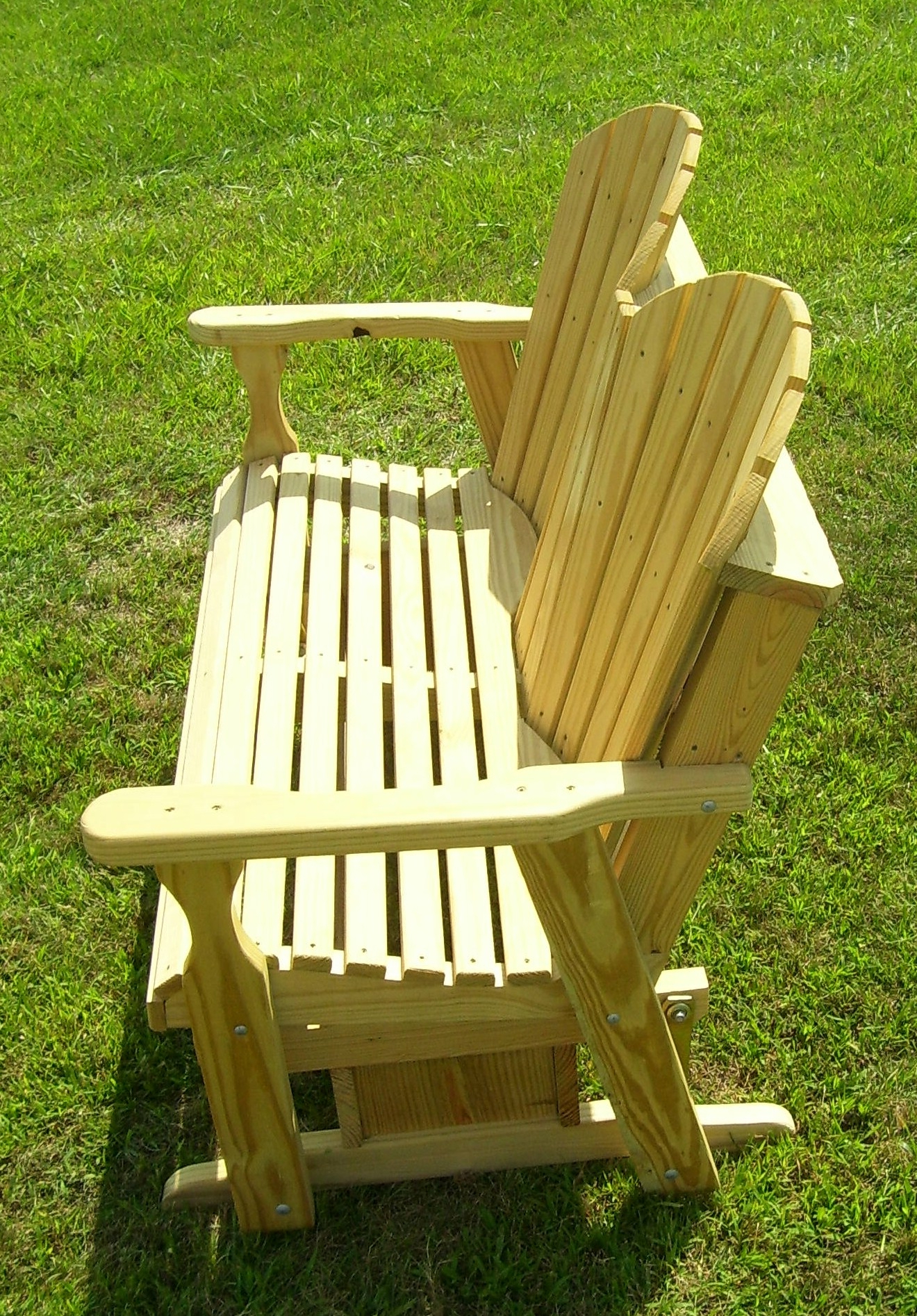 Widely Used Hardwood Porch Glider Benches Intended For Wood Porch Glider Plans (View 27 of 30)