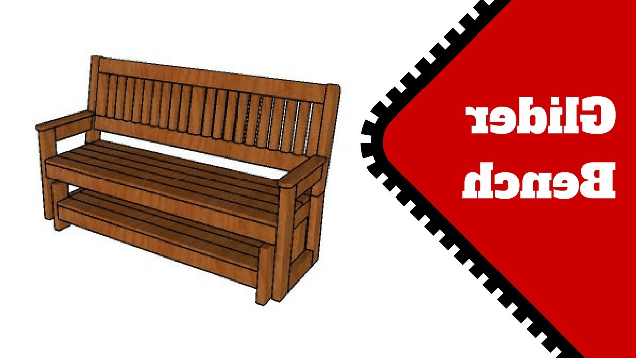 Widely Used Hardwood Porch Glider Benches Pertaining To Free Glider Bench Plans (View 15 of 30)