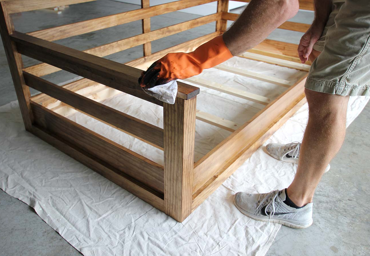 Widely Used How To Build A Porch Swing Bed – Plank And Pillow Throughout Daybed Porch Swings With Stand (View 28 of 30)