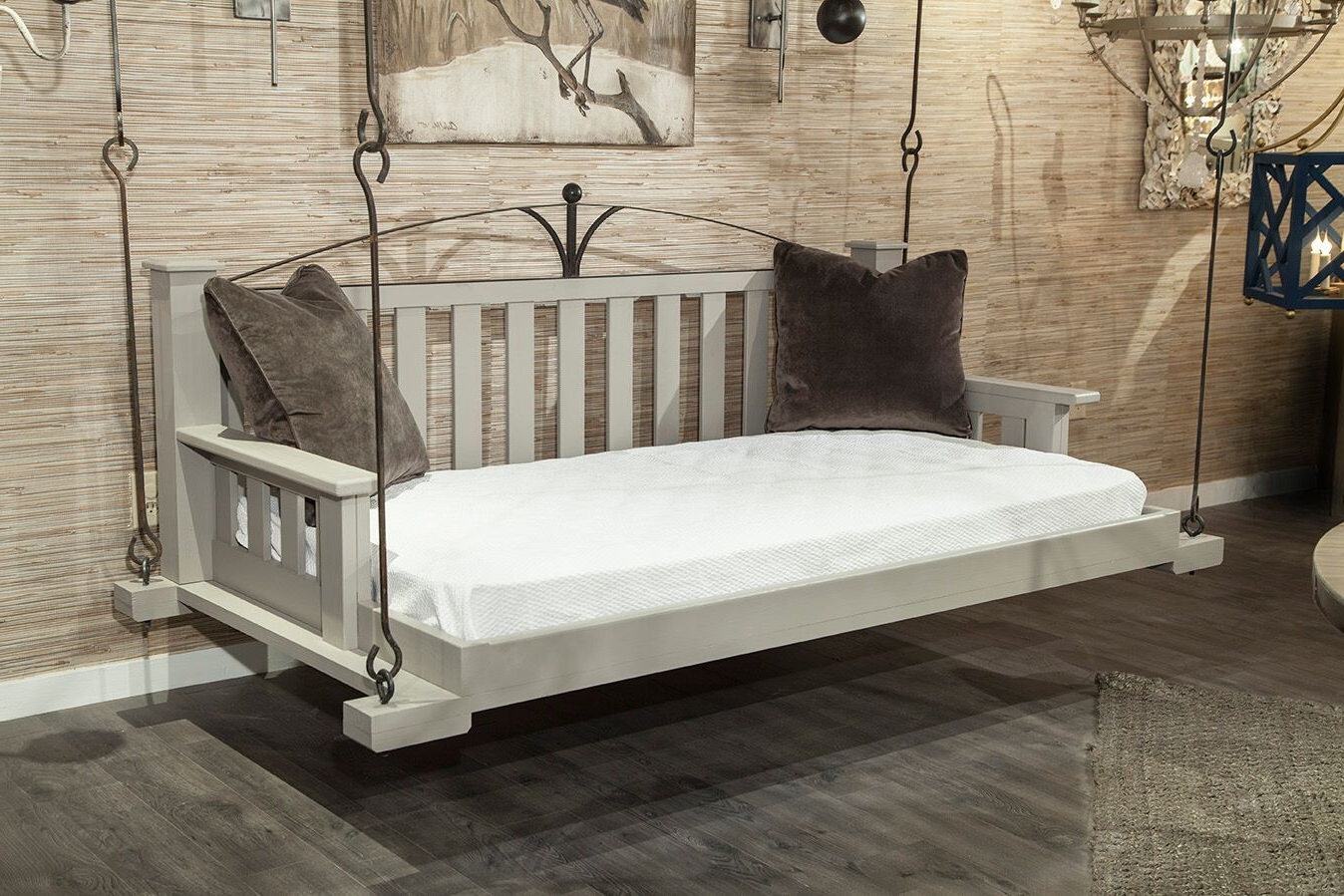 Widely Used Lco F10 Arch Swinging Day Bed In Mixed Material. Arch Within Country Style Hanging Daybed Swings (Gallery 20 of 30)