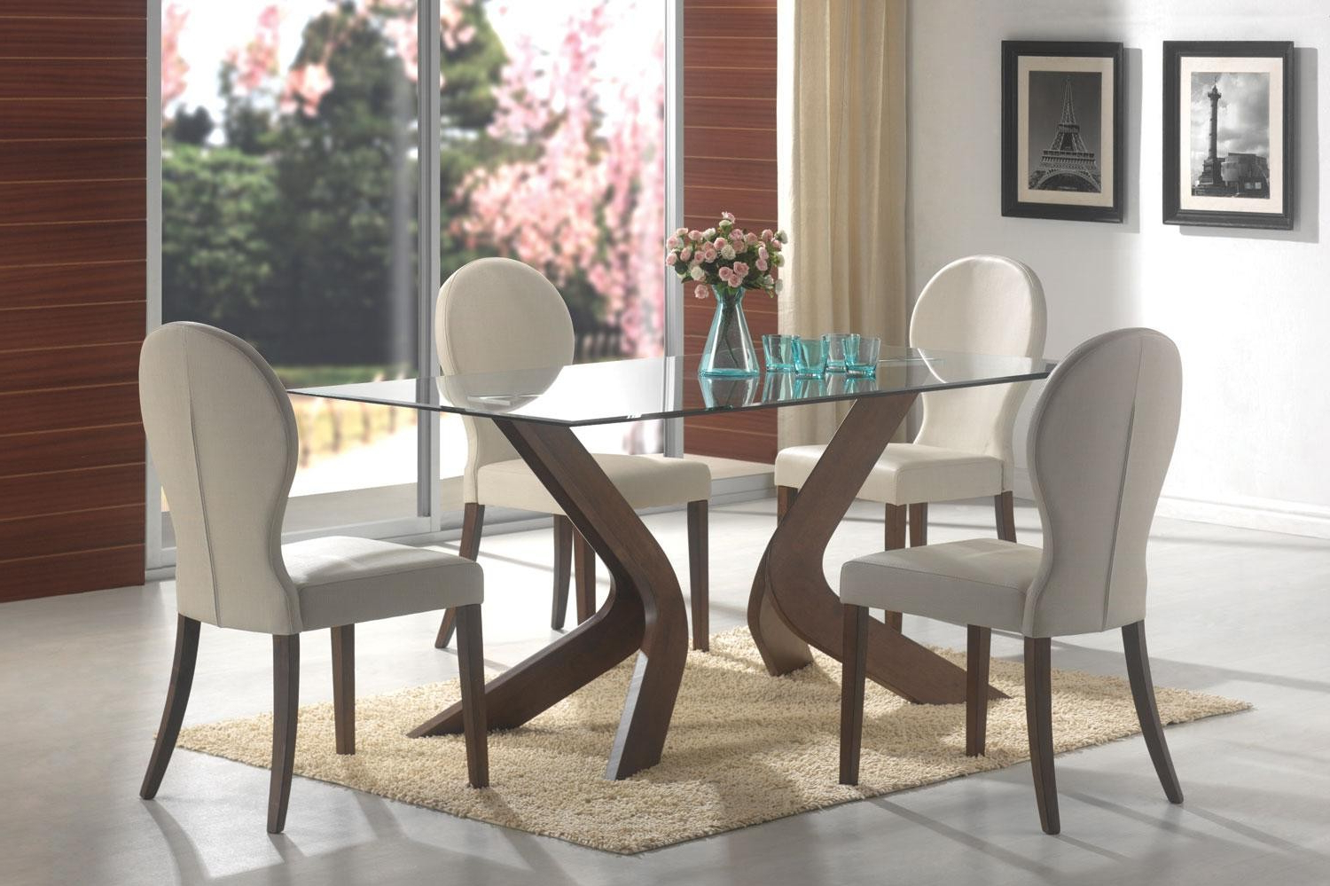 Widely Used Medium Elegant Dining Tables With San Vicente Five Piece Dining Set Lowest Price – Sofa (View 7 of 30)