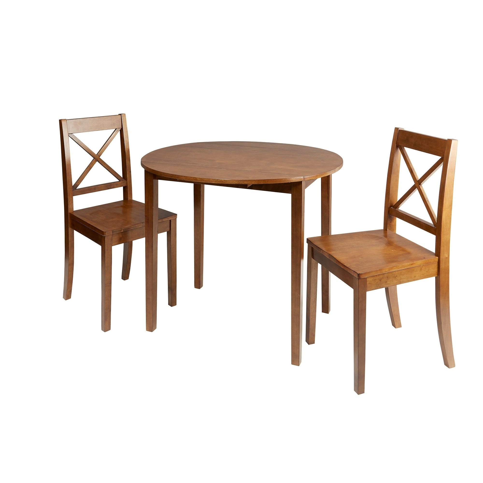 Widely Used Murphy 3 Piece Drop Leaf Dining Set For Transitional 3 Piece Drop Leaf Casual Dining Tables Set (View 28 of 30)