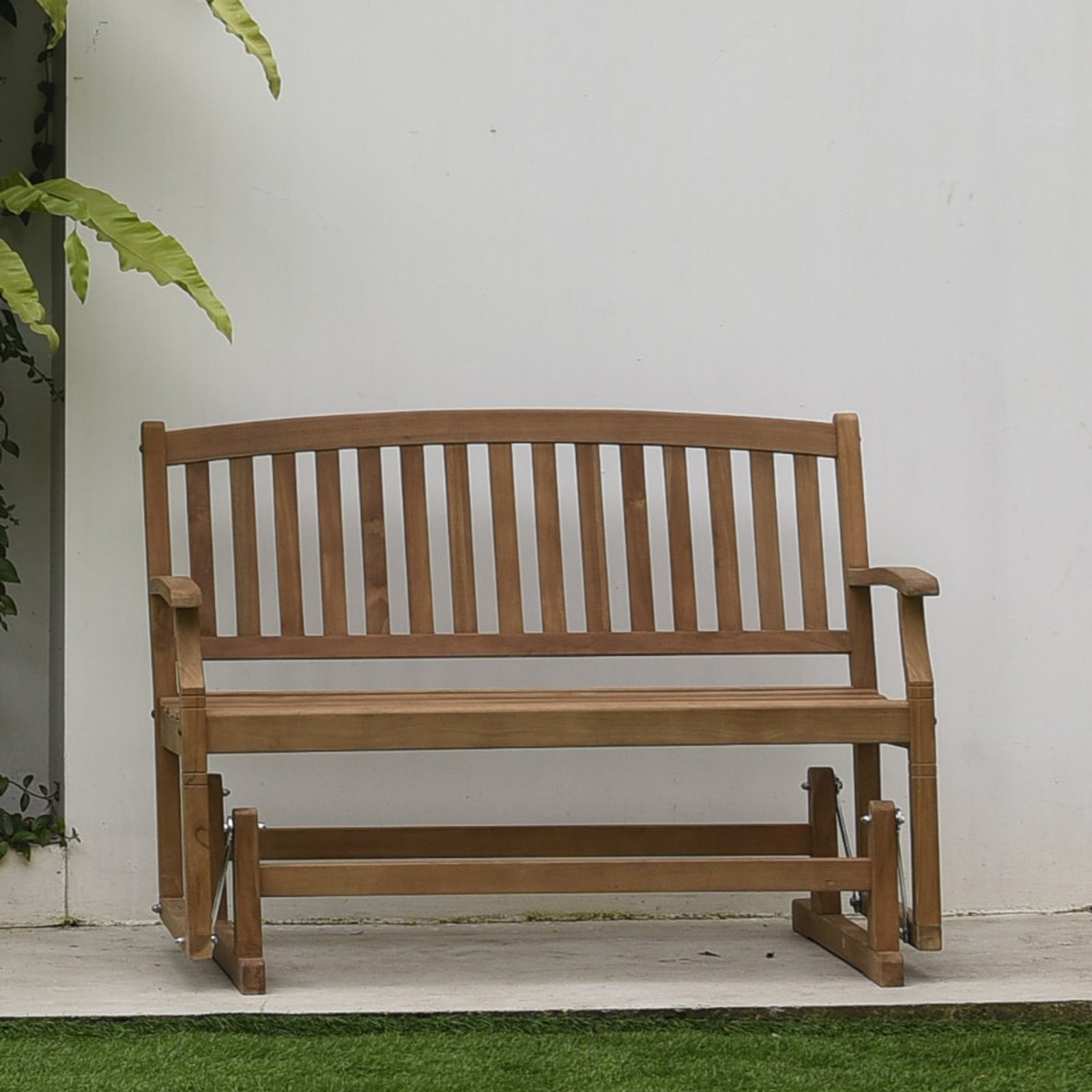 Widely Used Outdoor Cambridge Casual Teak 49 In (View 29 of 30)