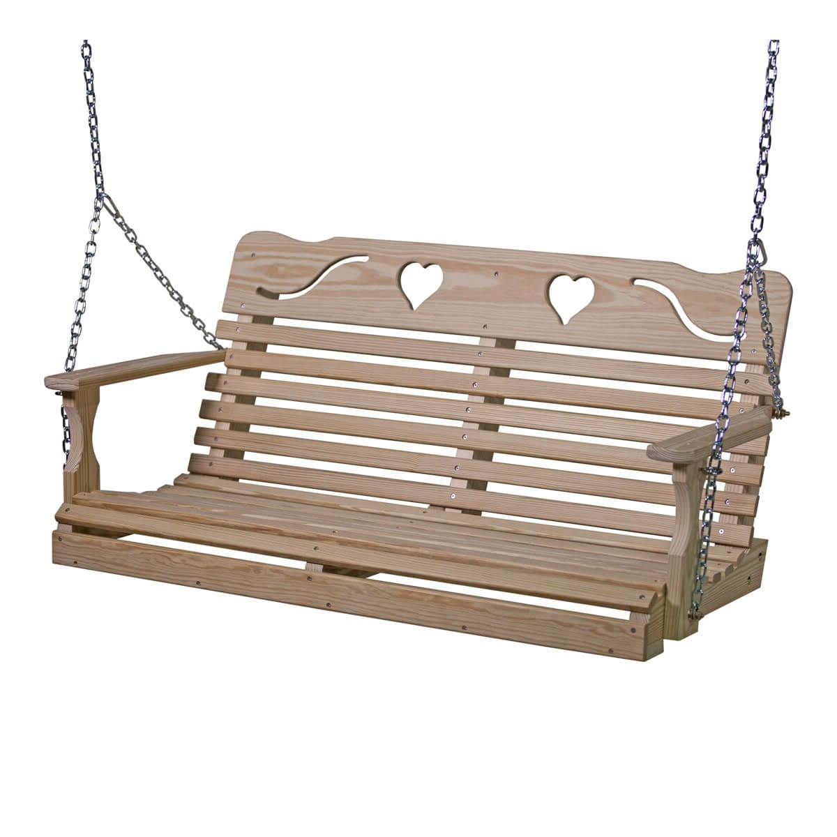 Widely Used Plain Porch Swings Throughout Swings · Hostetler's Furniture (View 28 of 30)