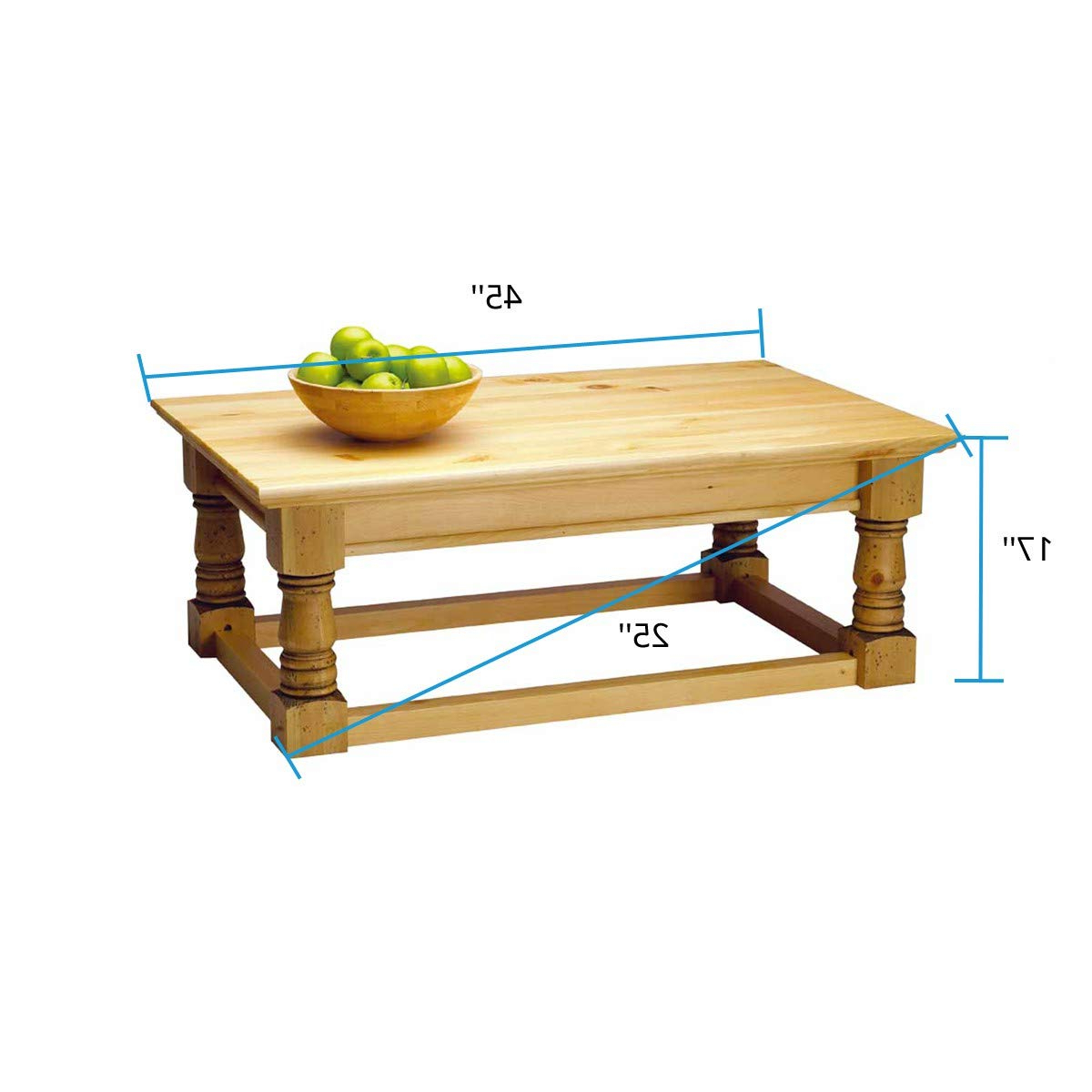 Widely Used Renovator's Supply Country Pine Finish 17 Inch Vintage Coffee And Center Table Set Within Country Dining Tables With Weathered Pine Finish (View 26 of 30)