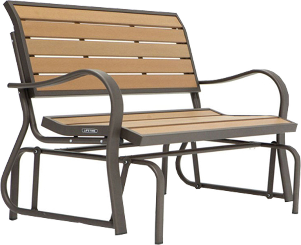 Widely Used Speckled Glider Benches In Beautiful Outdoor Loveseat Glider Bench (View 28 of 30)