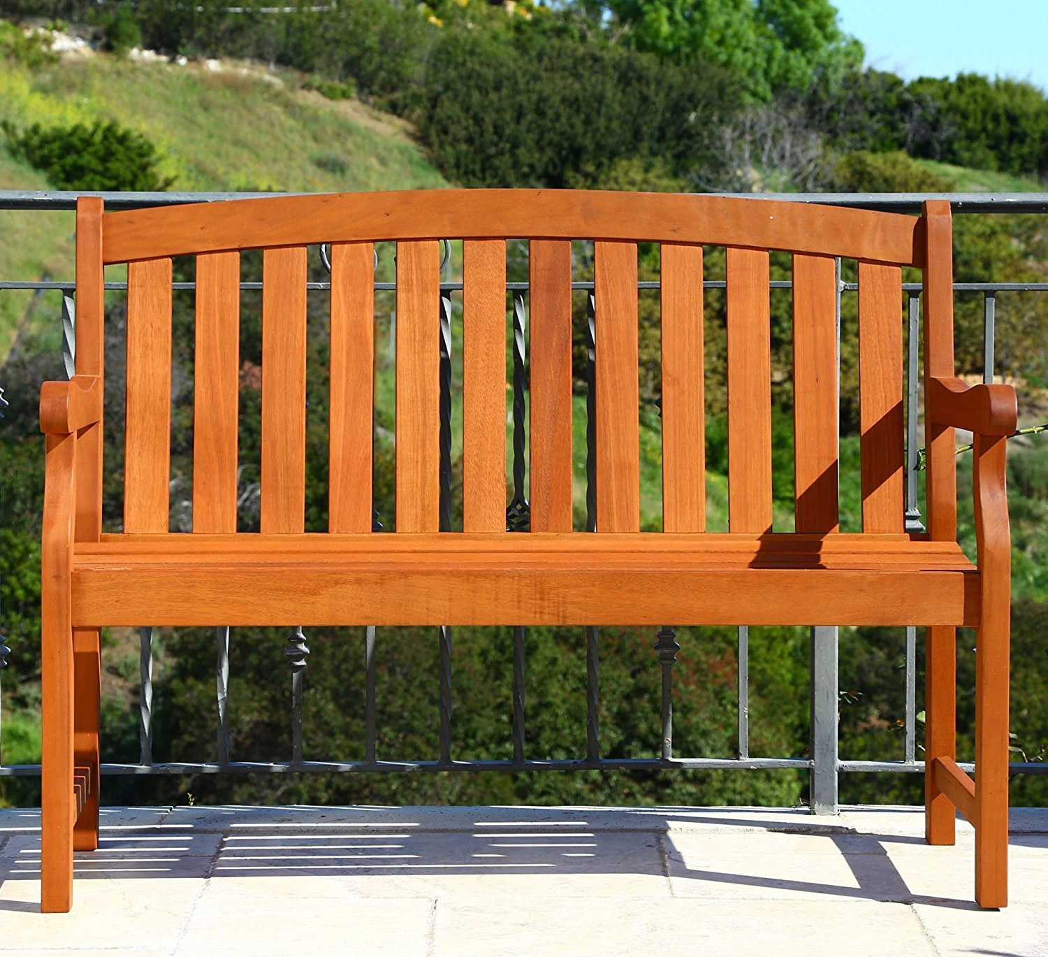 Widely Used Teak Outdoor Glider Benches Pertaining To Buy This Teak Outdoor Bench Is 5 Ft And A 2 Seater, Made (View 30 of 30)