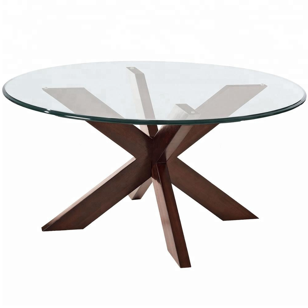 Widely Used Widely Selling Glass And Mango Wood X Cross Base Dining Table Exporter –  Buy Wood Rustic Dining Table,dining Table,wood Dining Table Product On Intended For Iron Dining Tables With Mango Wood (Gallery 24 of 30)