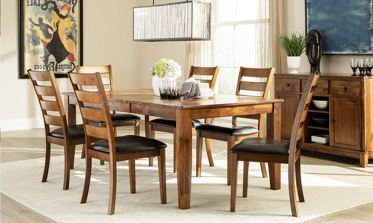 Widely Used Wood Kitchen Dining Tables With Removable Center Leaf Regarding Must Know Faqs About Butterfly Leaf Tables – Overstock (View 16 of 30)