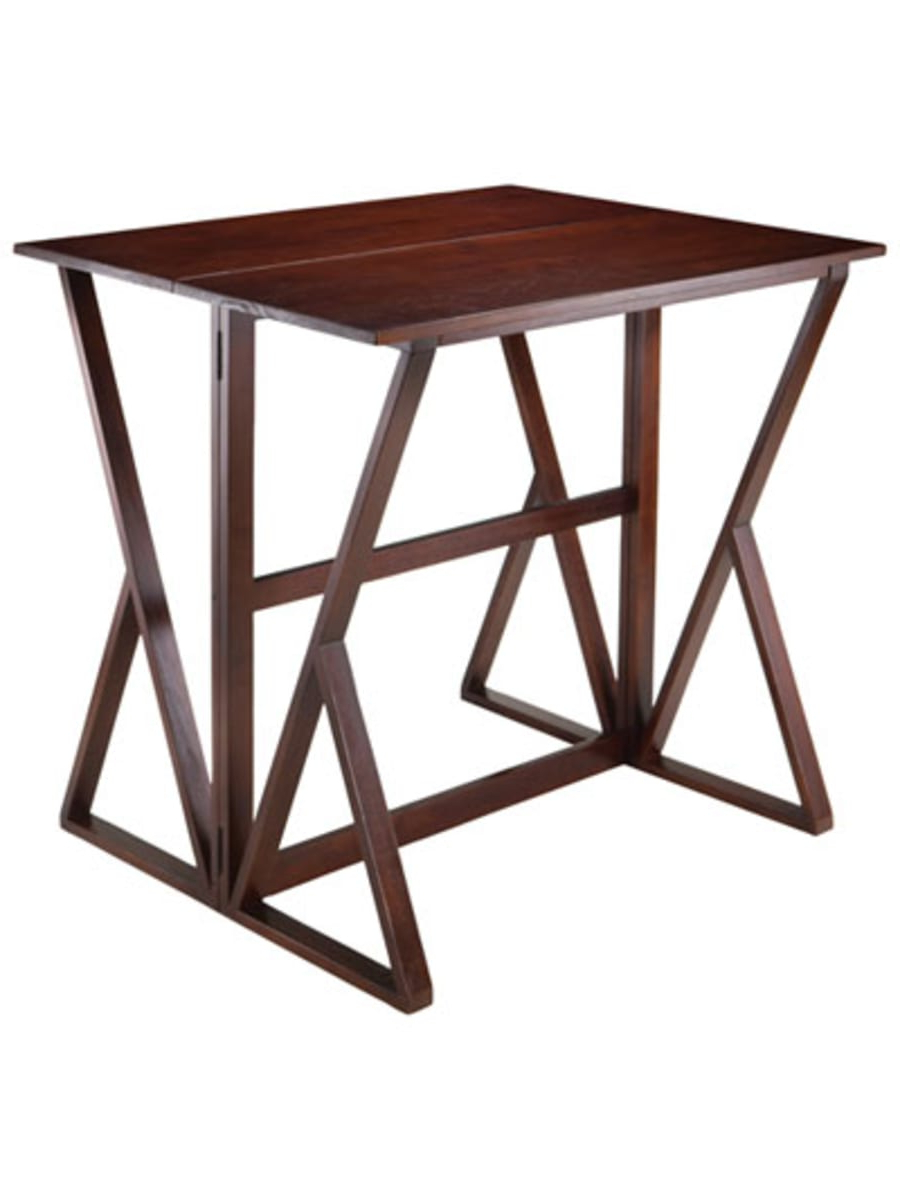 Winsome Harrington Transitional 4 Seating Drop Leaf Casual In Trendy Transitional 4 Seating Drop Leaf Casual Dining Tables (View 4 of 30)