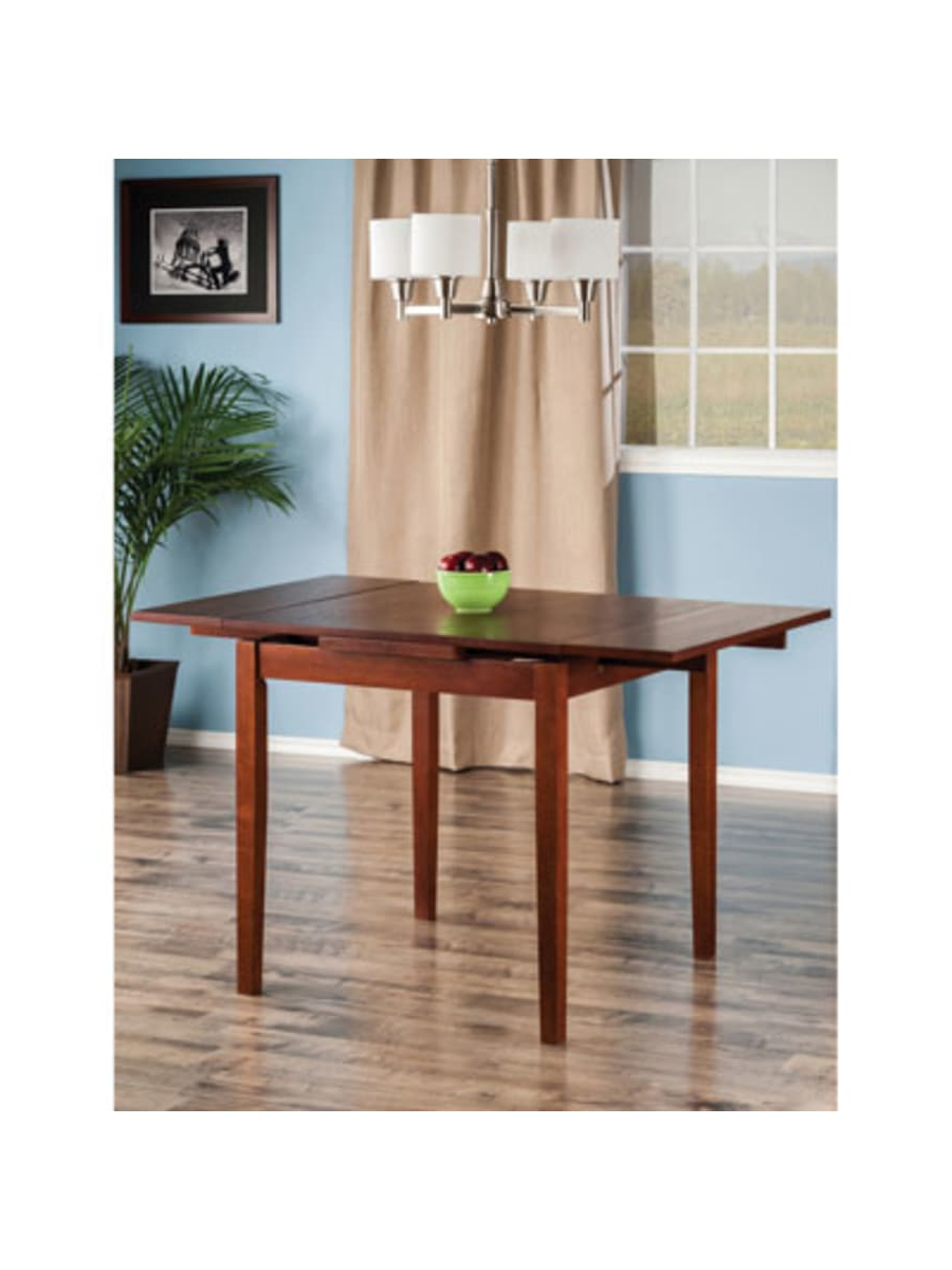 Winsome Lyndon Transitional 4 Seating Drop Leaf Casual Inside Newest Transitional 4 Seating Drop Leaf Casual Dining Tables (Gallery 2 of 30)