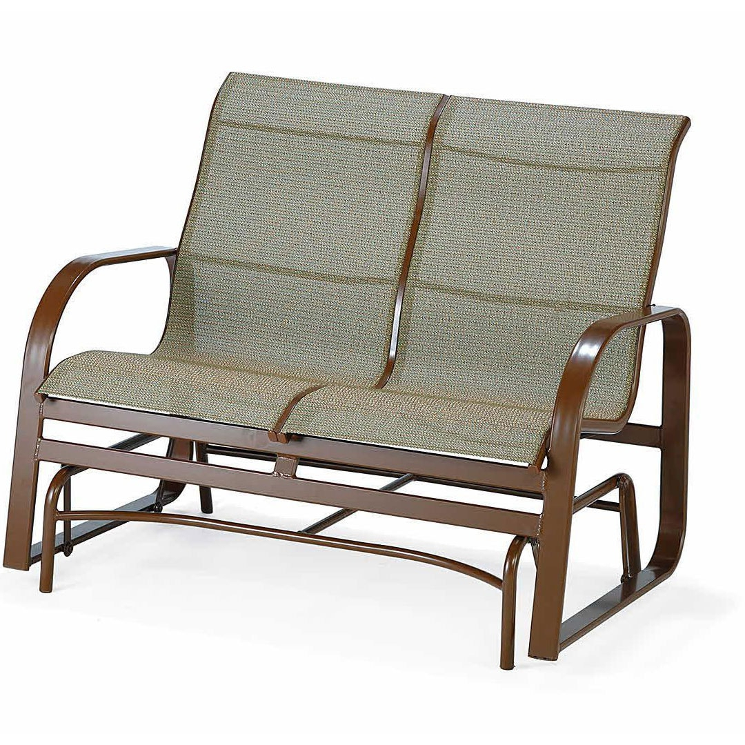Winston Seagrove Ii Sling Loveseat Glider Outdoor Furniture Throughout Favorite Loveseat Glider Benches (View 12 of 30)