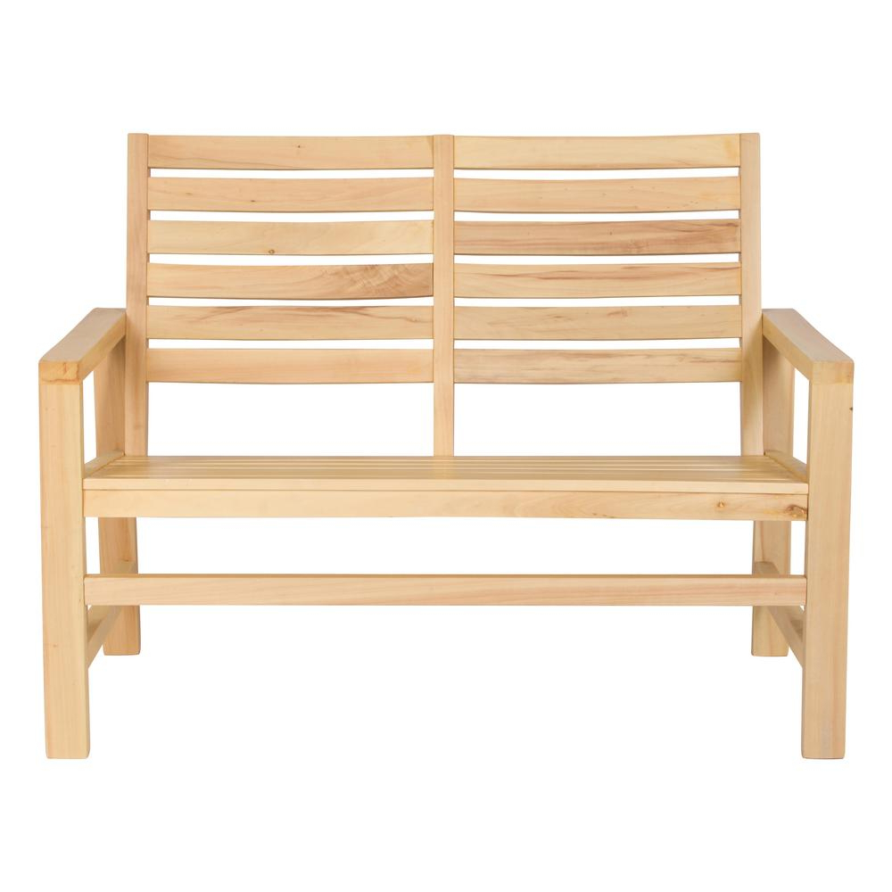 Wood Garden Benches For Well Known Shine Company 40 In (View 21 of 30)