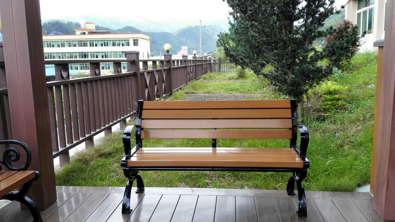 Wood Garden Benches In Best And Newest China Asa Pvc Co Extruded Wood Plastic Composite Materials (View 22 of 30)